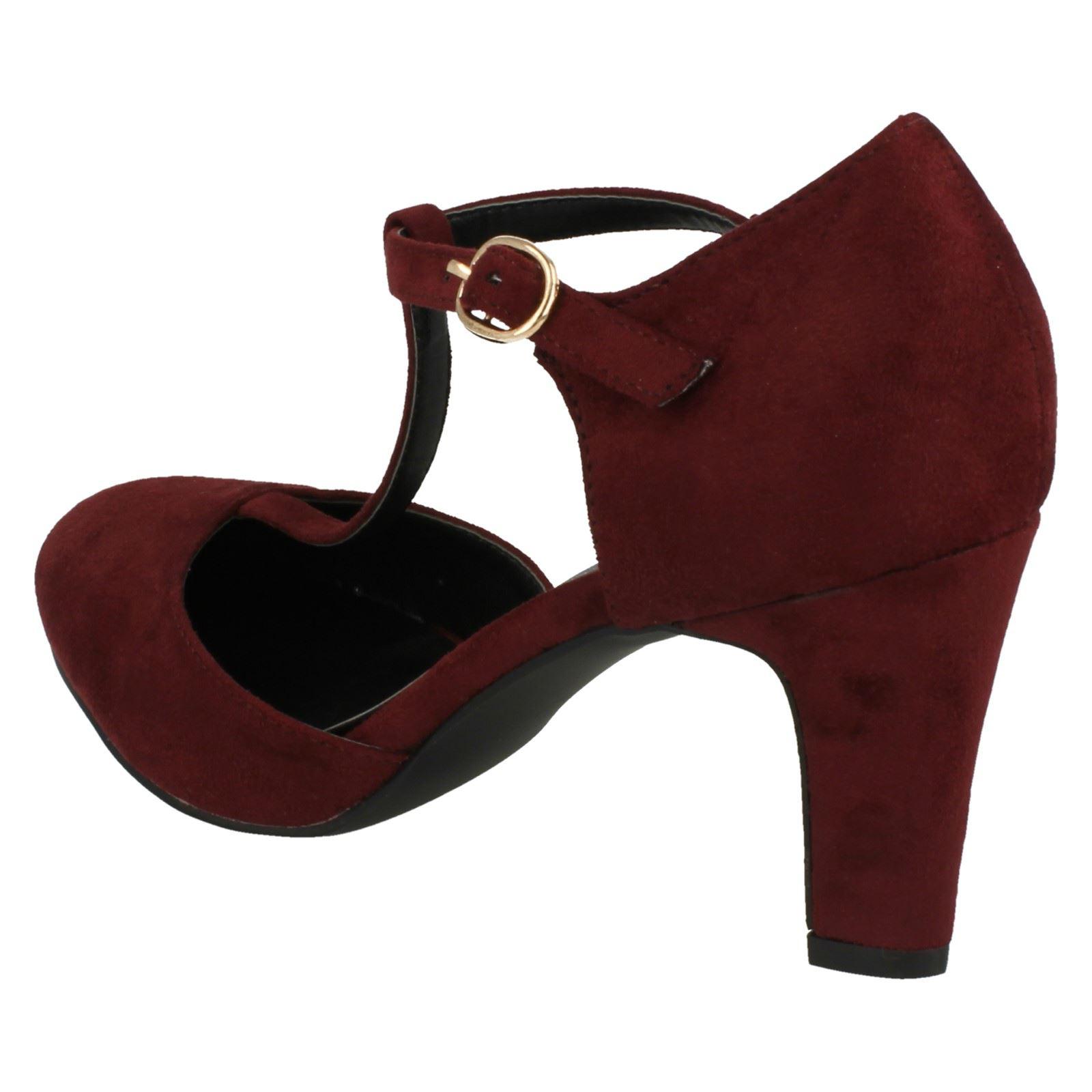Ladies-Anne-Michelle-T-Bar-Smart-Shoes thumbnail 31