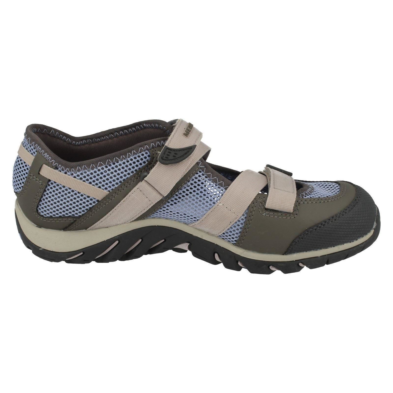Ladies-Merrell-Buckle-Fastened-Casual-Shoes-Waterpro-Crystal-J82284 thumbnail 7