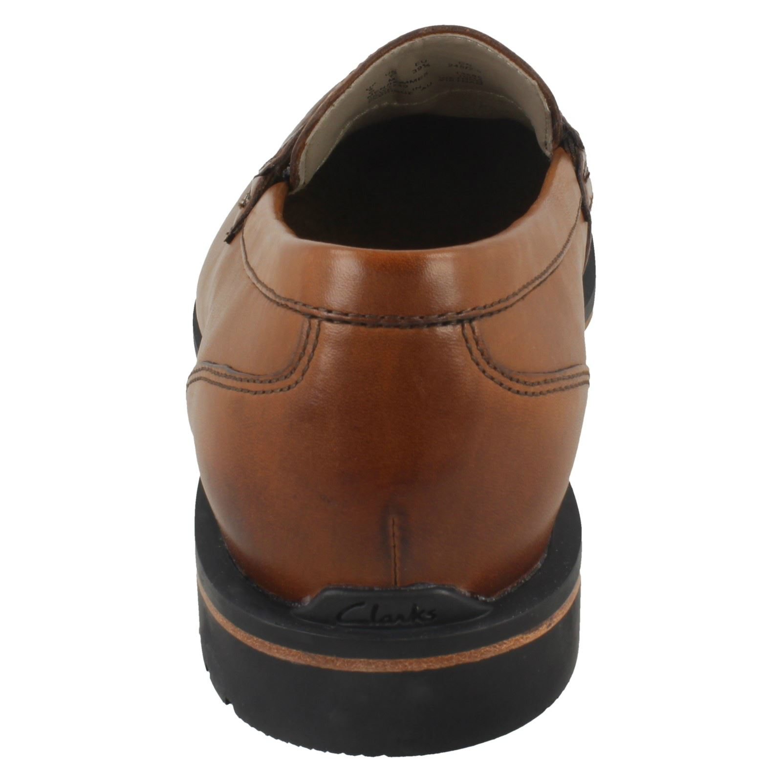 Hommes marron 'gatley Smart Step' Clarks Chaussures On Slip Shoes fxfrUTa