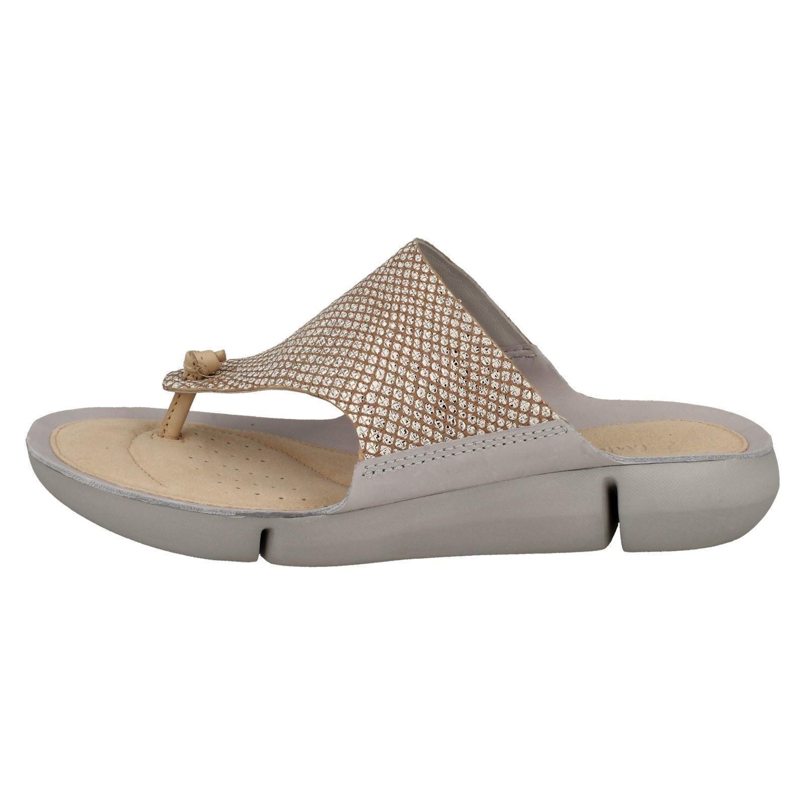 1a67659fdad6 Ladies Clarks Tri Carmen Flip Flops
