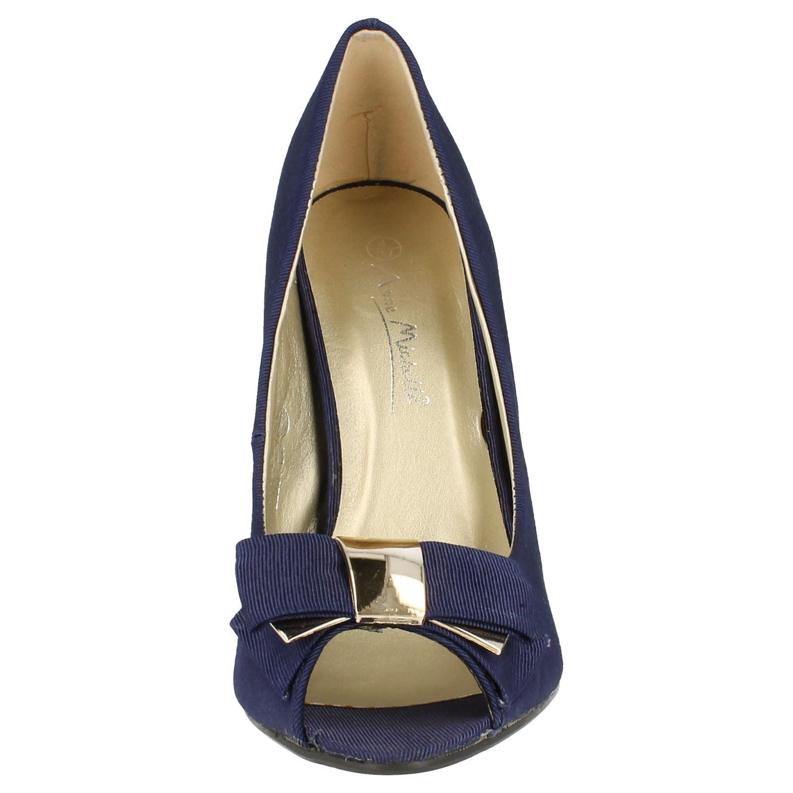 Damas Anne Michelle Tribunal de Punta Abierta Zapatos