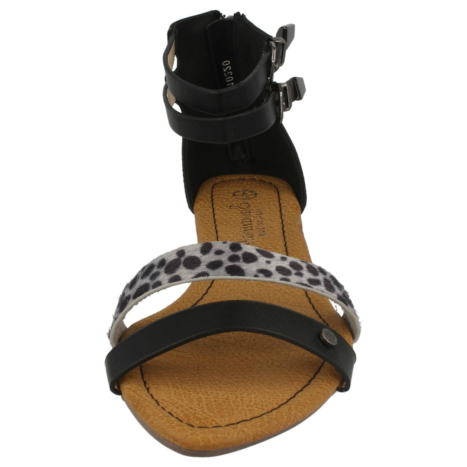 Ladies Savannah Low Wedge Sandal