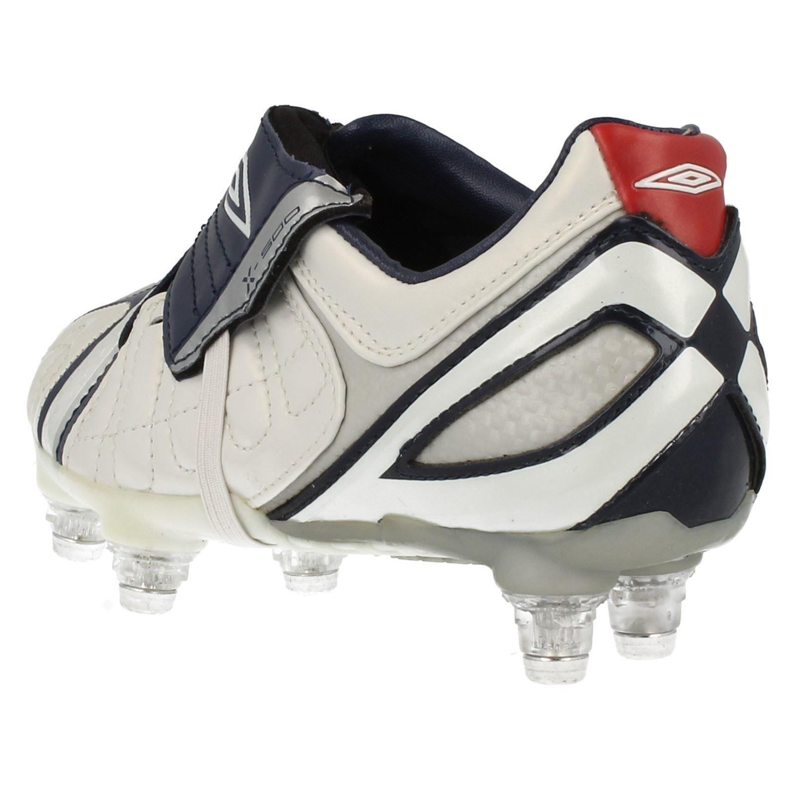 Boys Umbro Football Boots X-500-J SG