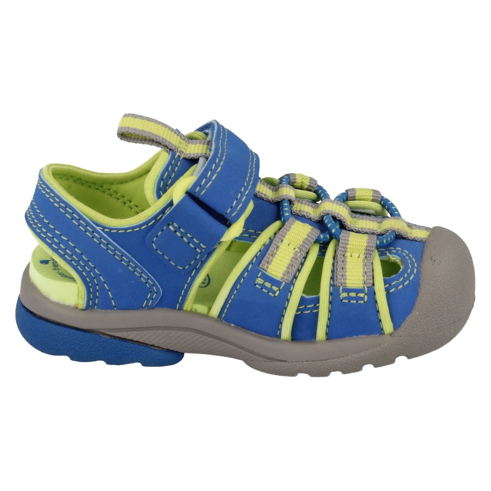 9a3e7e203c7c Childrens Unisex Clarks Closed Toe Sandals  Beach Tide