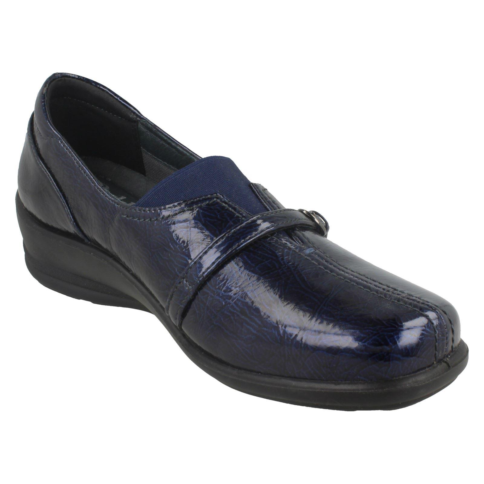 Padders Ladies Ladies Ladies Dual Fit System Comfort Flats Shelley ac6fb8