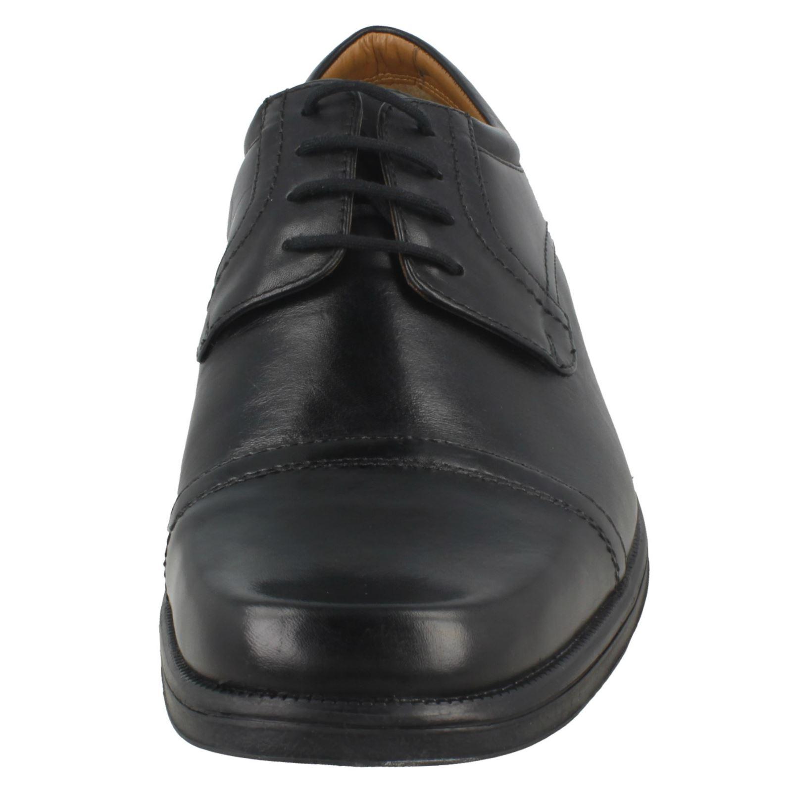 Herren Clarks Harpcap Lace Up Formal Formal Formal Schuhes 8de5b7