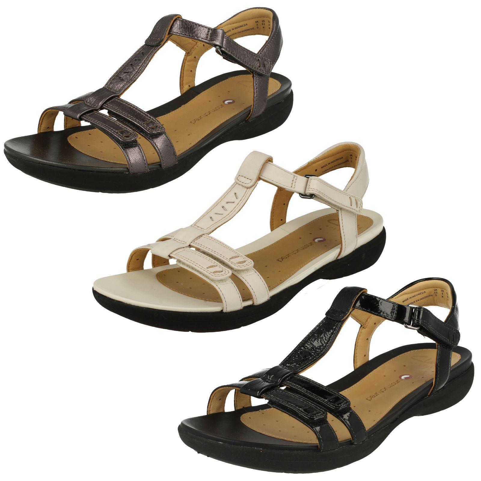 6e64f3435e6f6 Details about Ladies Clarks Unstructured Sandals  Un Vaze