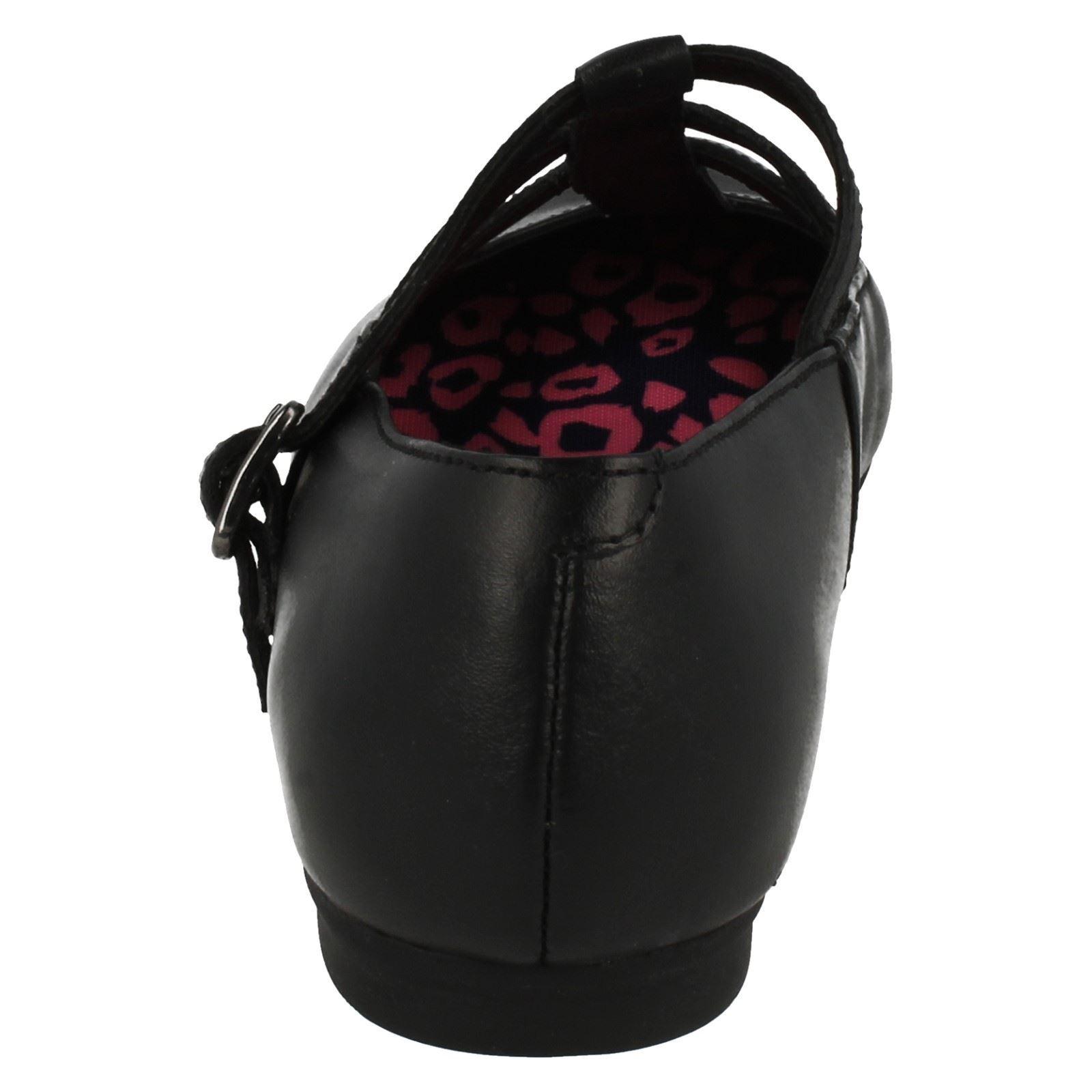 Bl Bootleg mayores Por Quartzflash Niñas Clarks Black Formal School Shoes 6gFWqAx