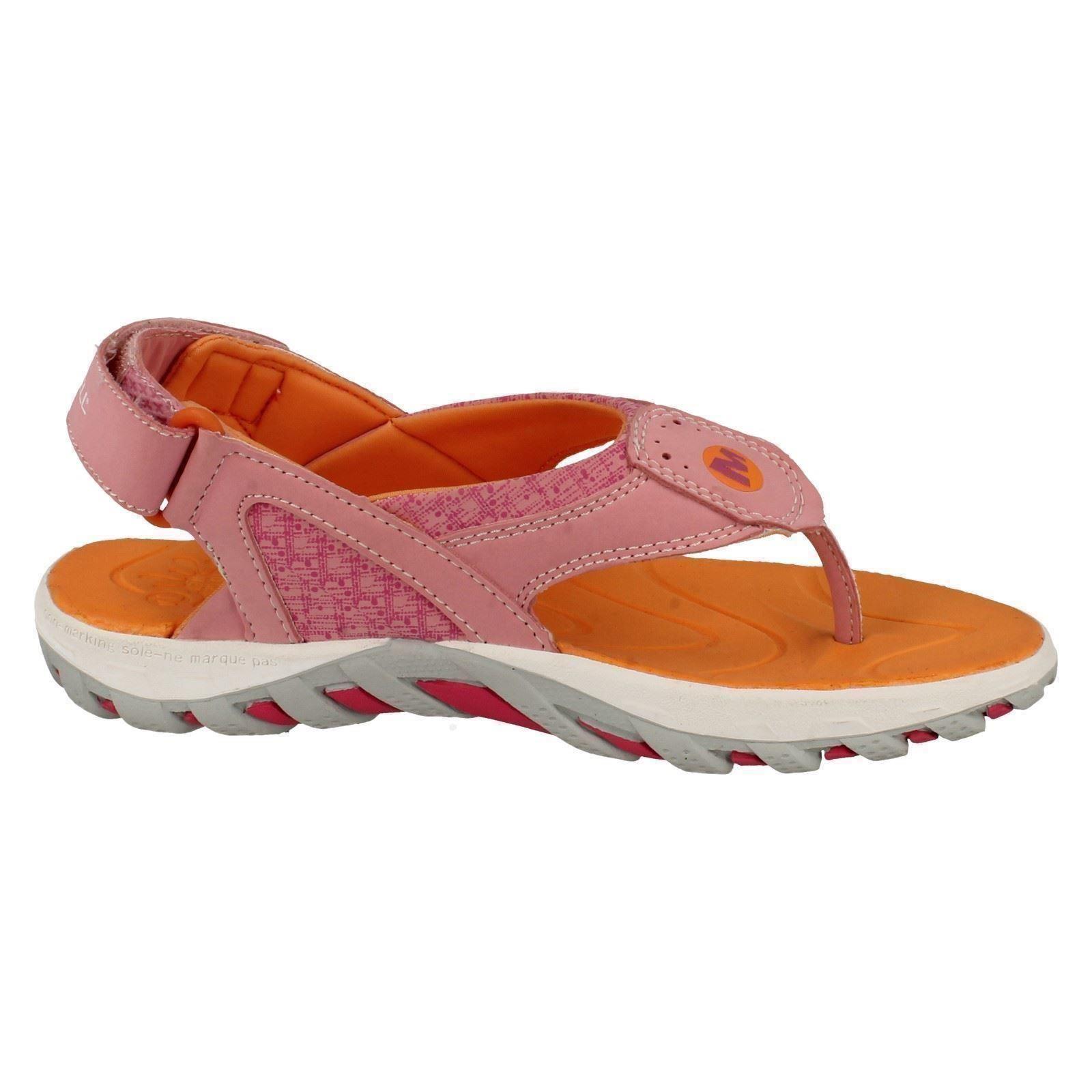 Girls Merrell Summer Toe Post Sandals Water Pro Plunge