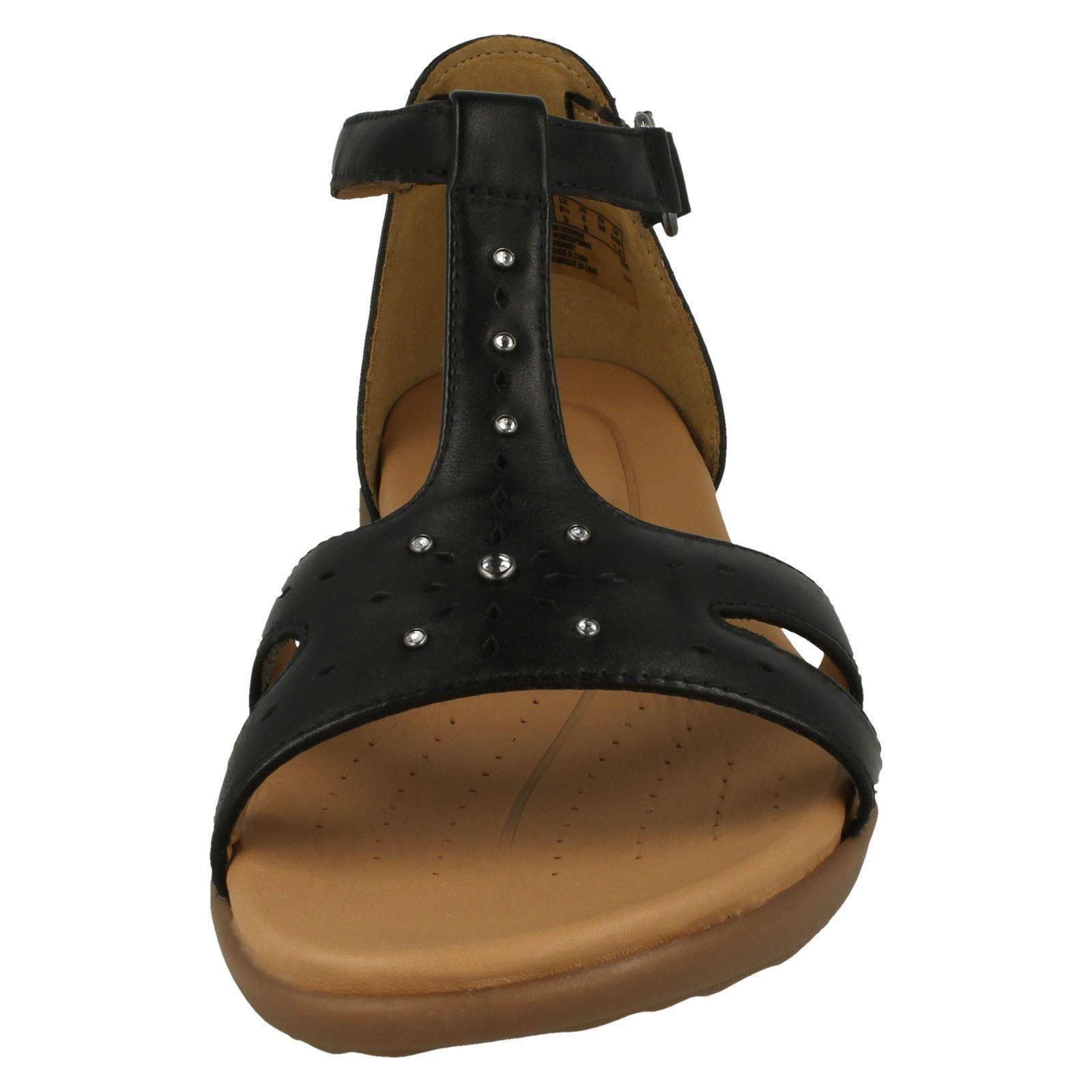 Signore Clarks Sandalo Con Cinturini Cinturini Cinturini 'ONU reisel Mara