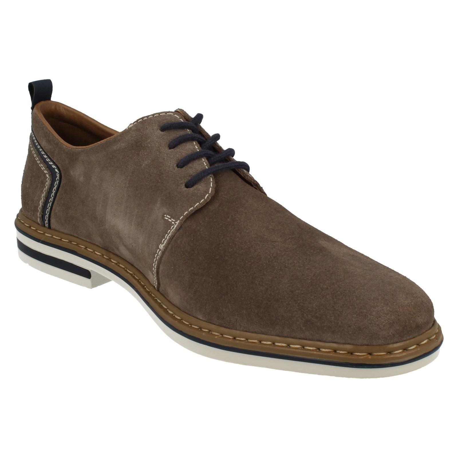 Gris Smart Chaussures Casual à B1421 lacets Rieker Hommes qBUwSOw
