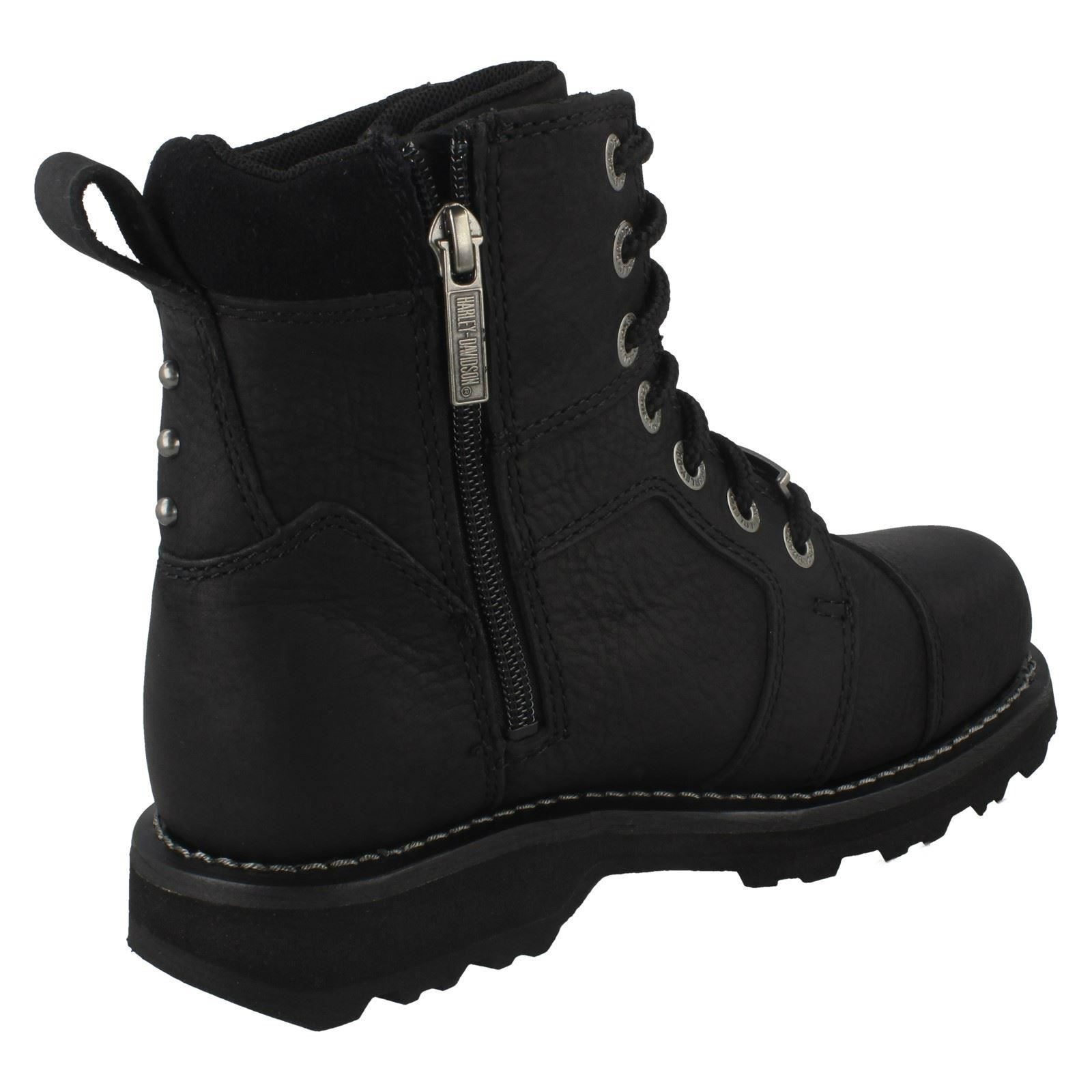 damen harley davidson biker boots 39 oakleigh 39 ebay. Black Bedroom Furniture Sets. Home Design Ideas