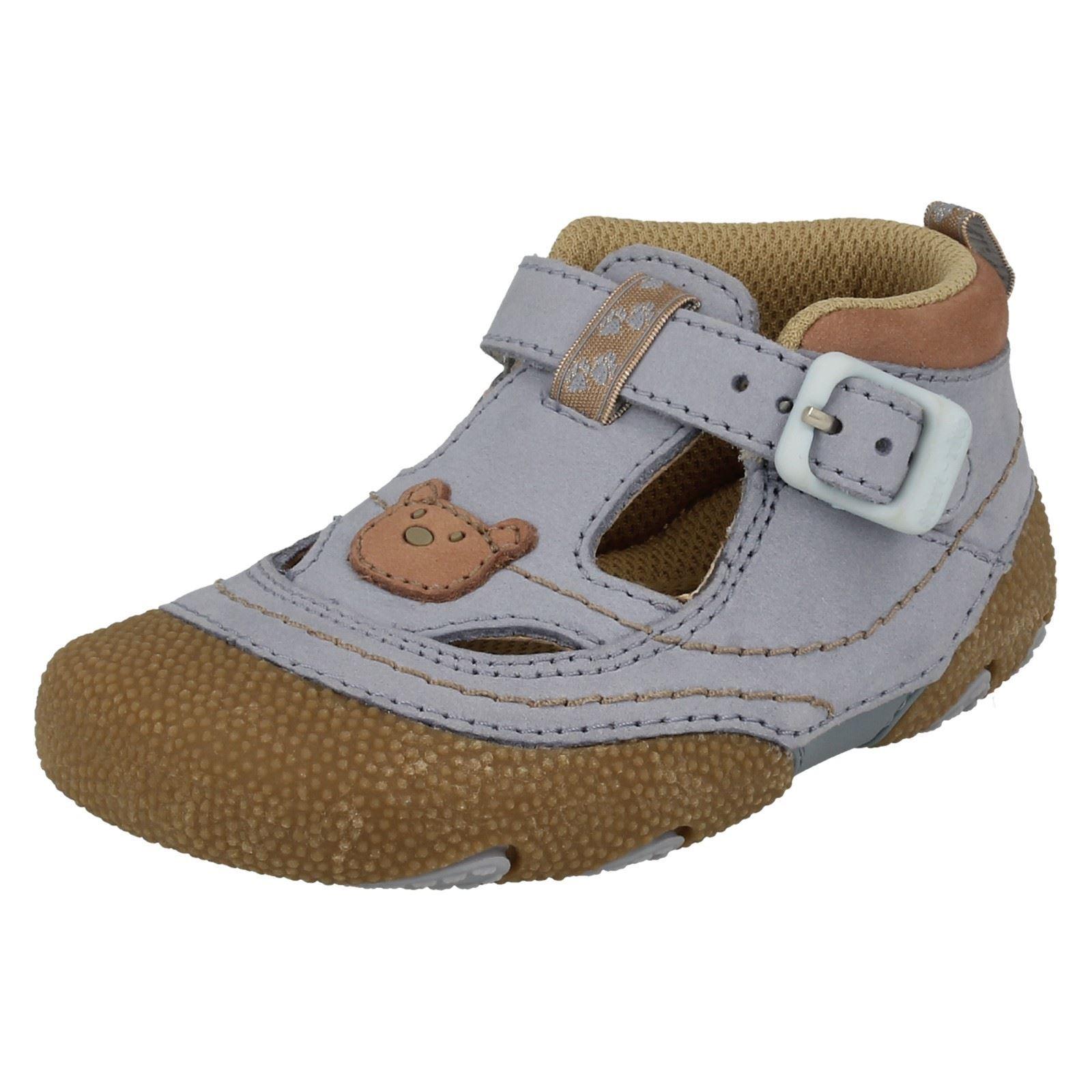 Infant Baby Boys Startrite Pre Walkers Buckle Fastening Leather
