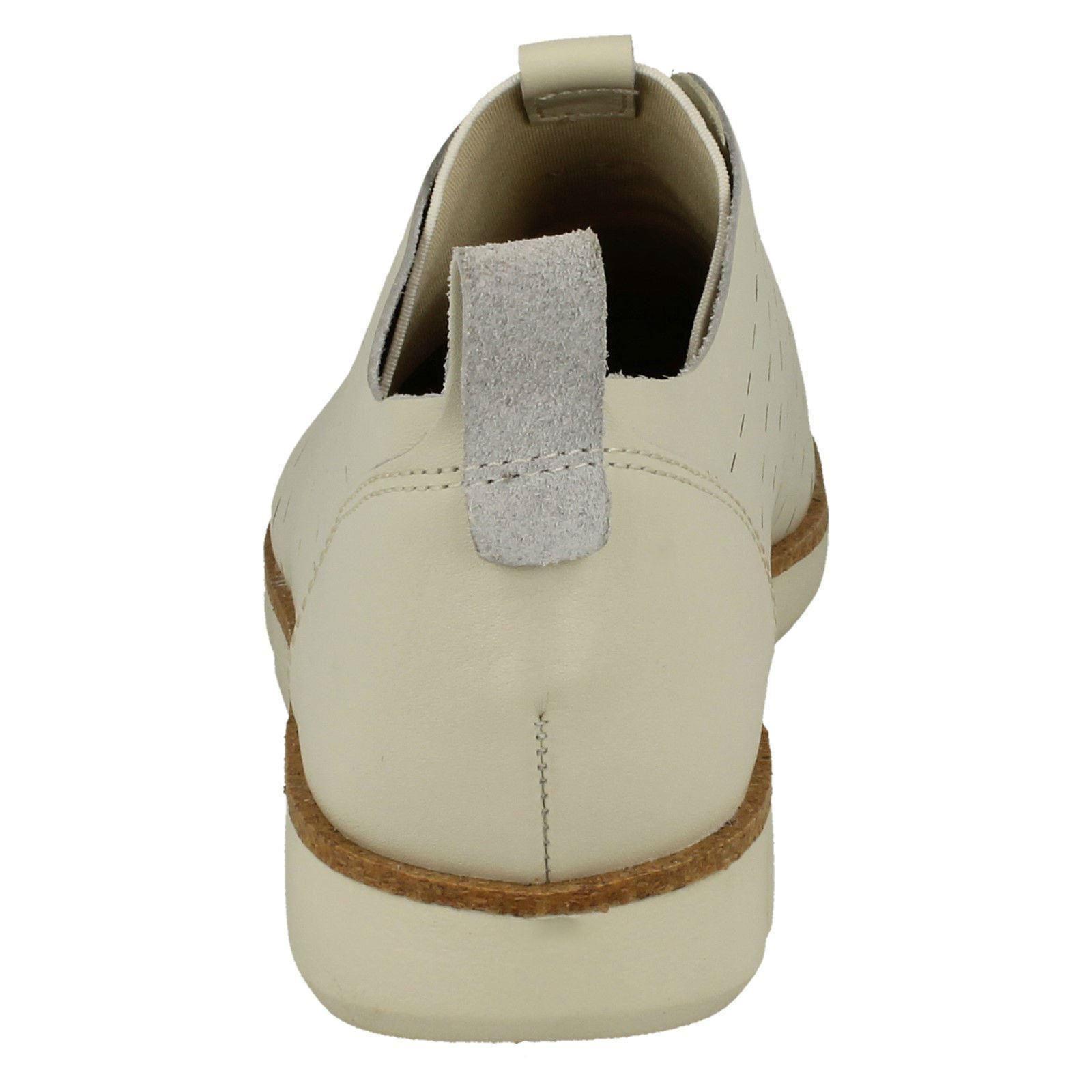 'tri damas Clarks blanco Calzado casual cordones para Etch' con xwqnxYtf8X