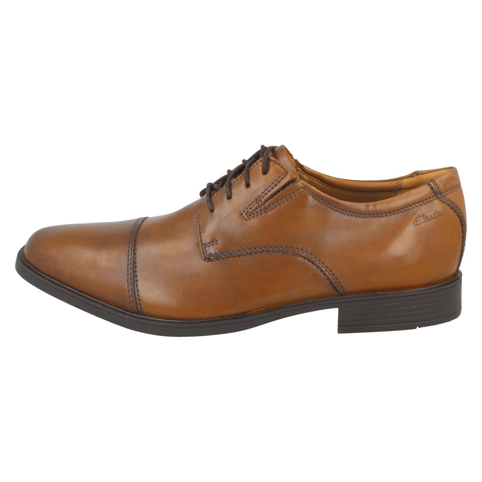 Mens-Clarks-Formal-Lace-Up-Shoes-Tilden-Cap thumbnail 25