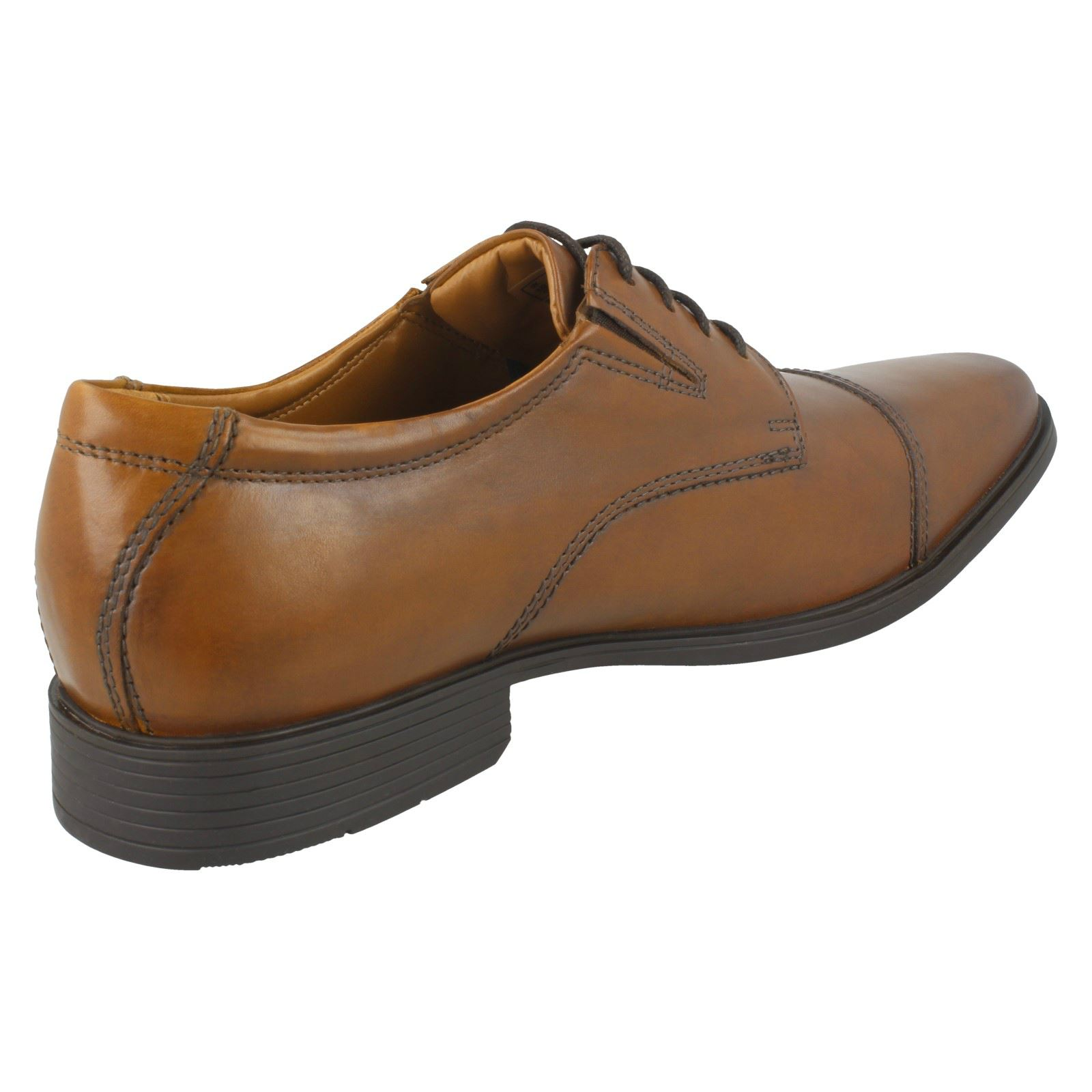 Mens-Clarks-Formal-Lace-Up-Shoes-Tilden-Cap thumbnail 22
