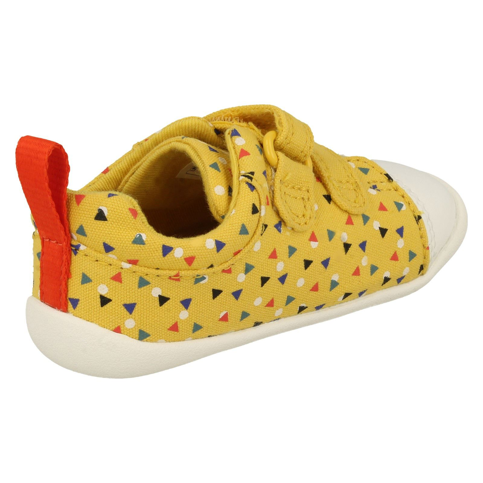 Childrens Boys Girls Clarks Pre-Walking Shoes Roamer Craft