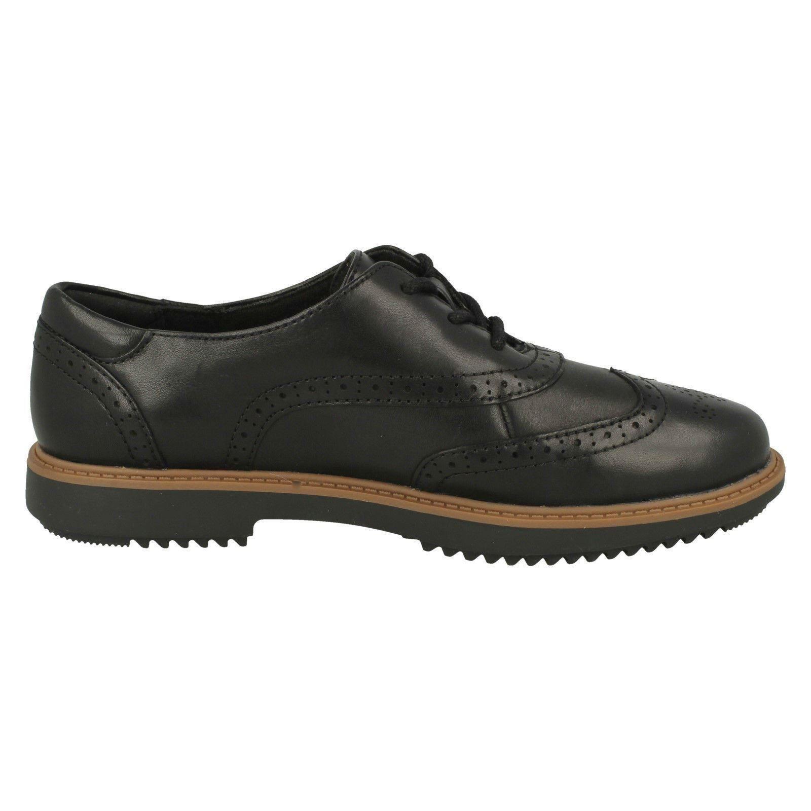 Womens Clarks Lace Up Brogue Style shoes shoes shoes - Raisie Hilde 1712a6