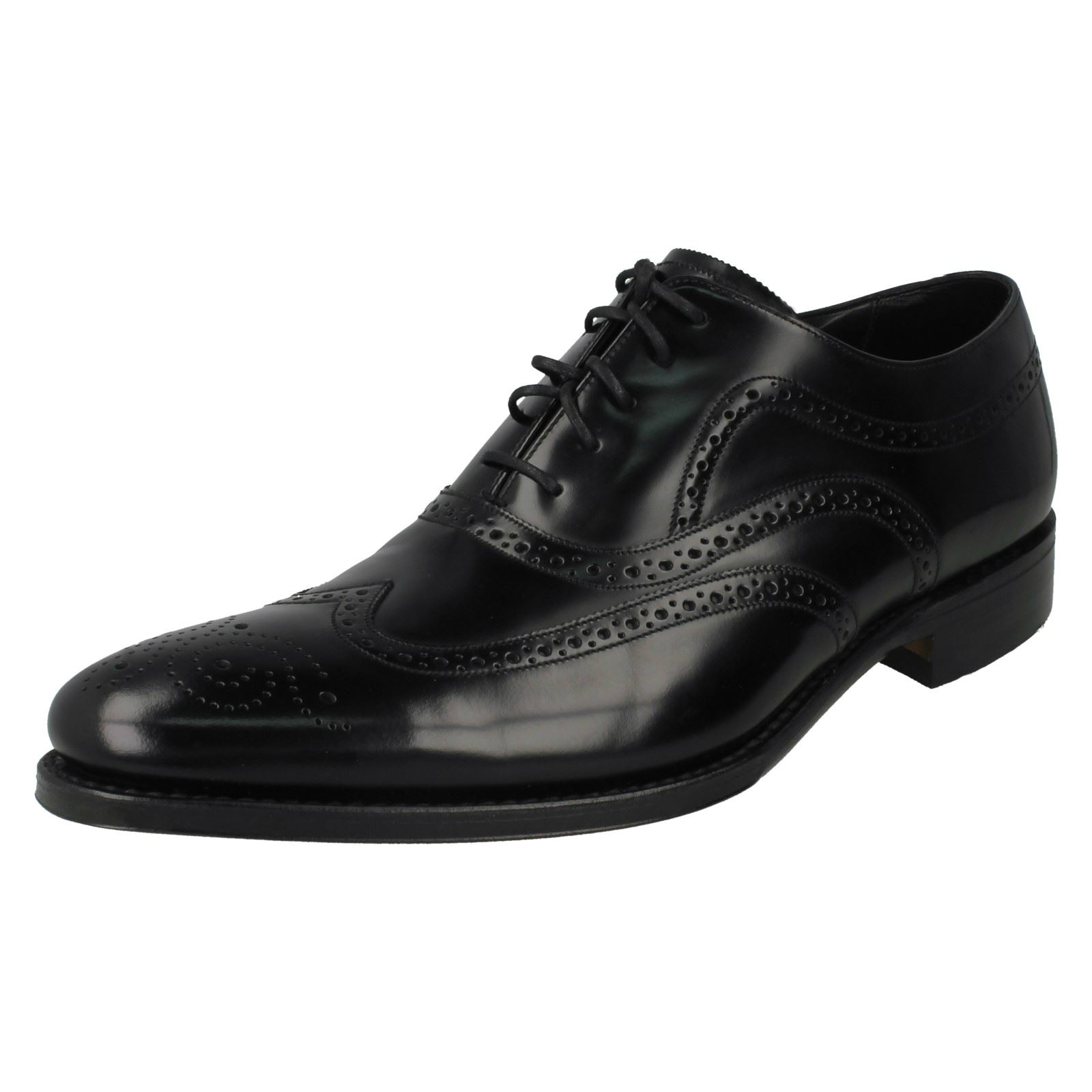 Mens Loake Lace Polished Leder Lace Loake Up Schuhes Jones 8d5b9f