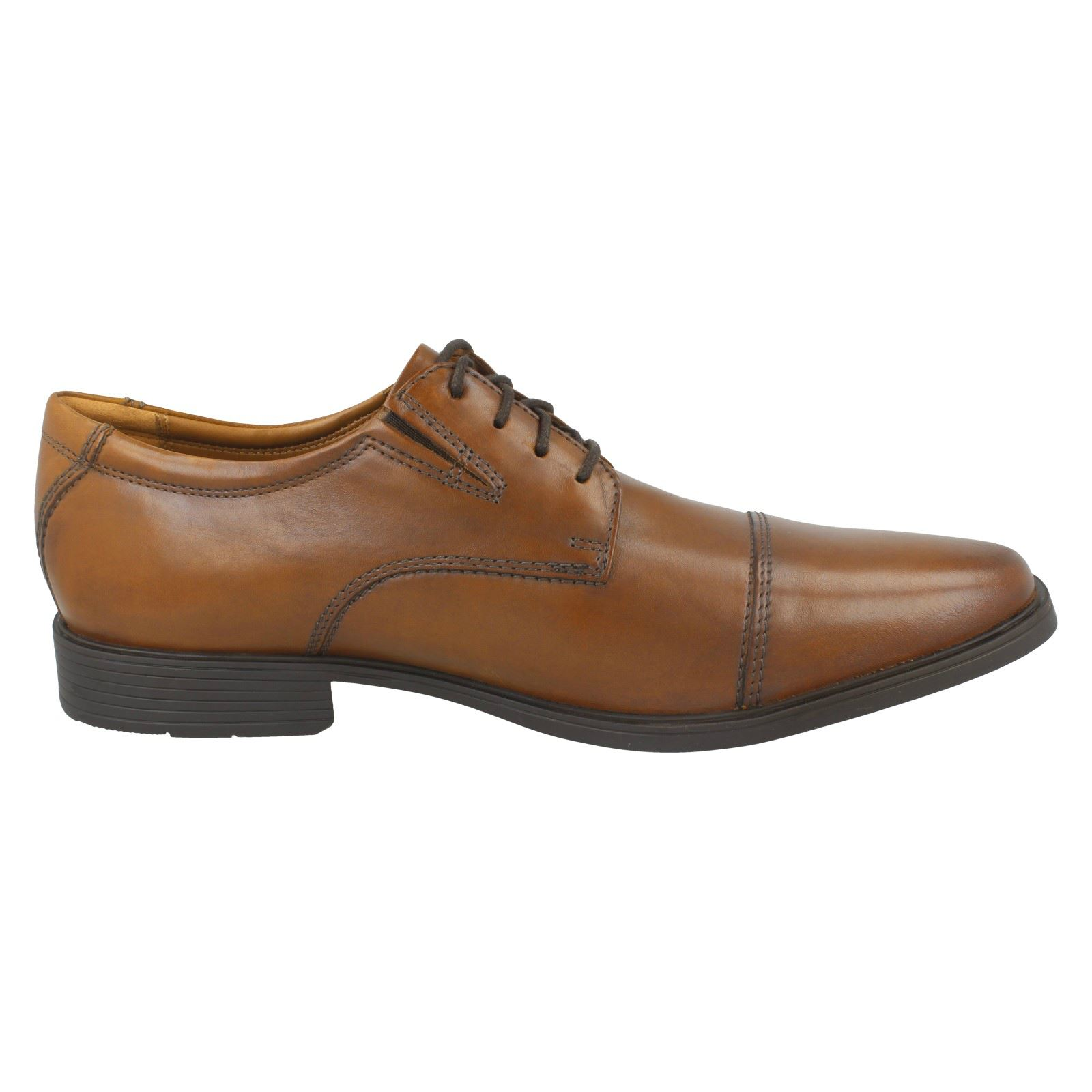 Mens-Clarks-Formal-Lace-Up-Shoes-Tilden-Cap thumbnail 24
