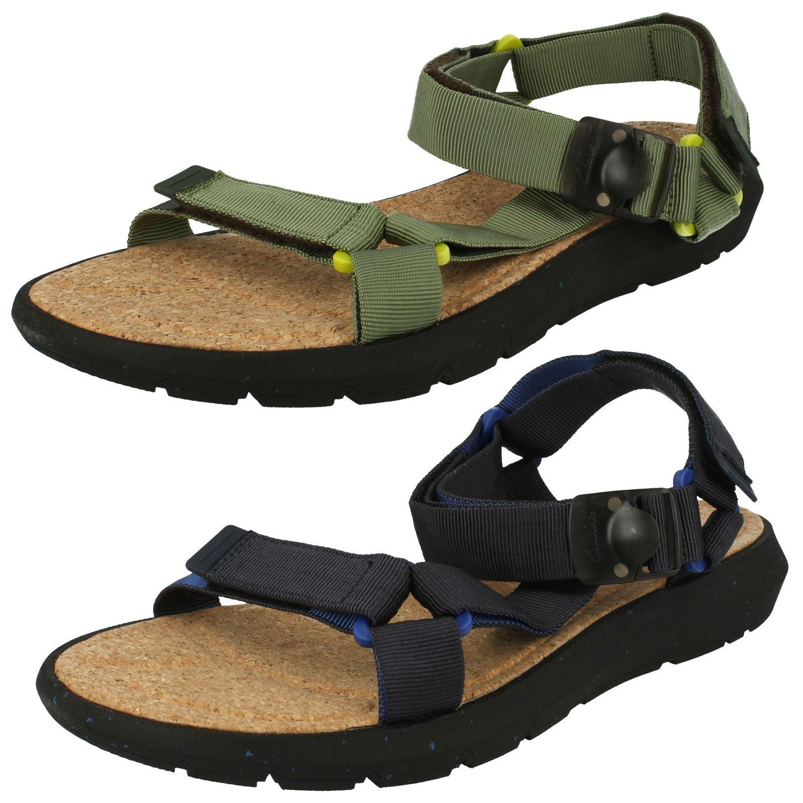fe7074935ec Details about Mens Clarks Pilton Brave Casual Summer Sandals