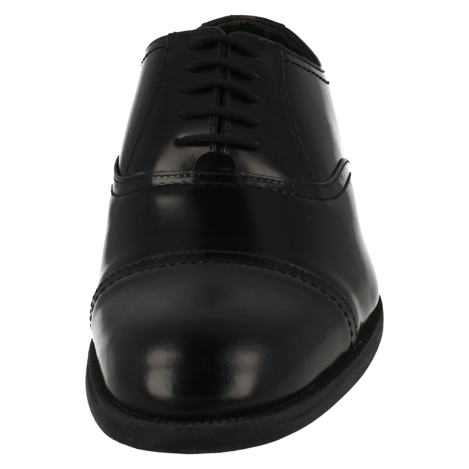 con Black Zapatos Harvey hombre Clarks para cordones formales Lift T8rwU8qAE