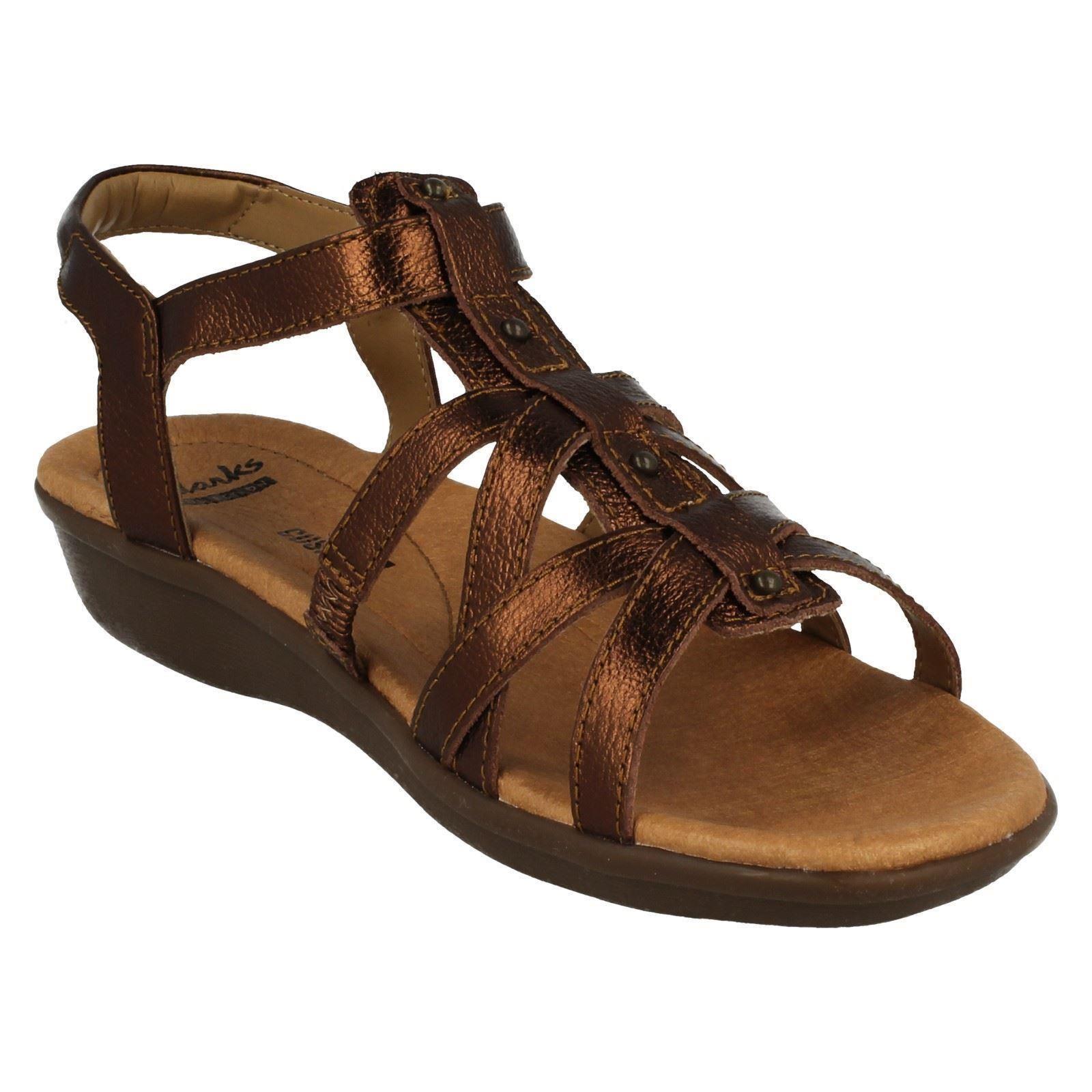 ebe78b26cc0 Womens-Clarks-Gladiator-Style-Sandals-Manilla-Bonita thumbnail 14