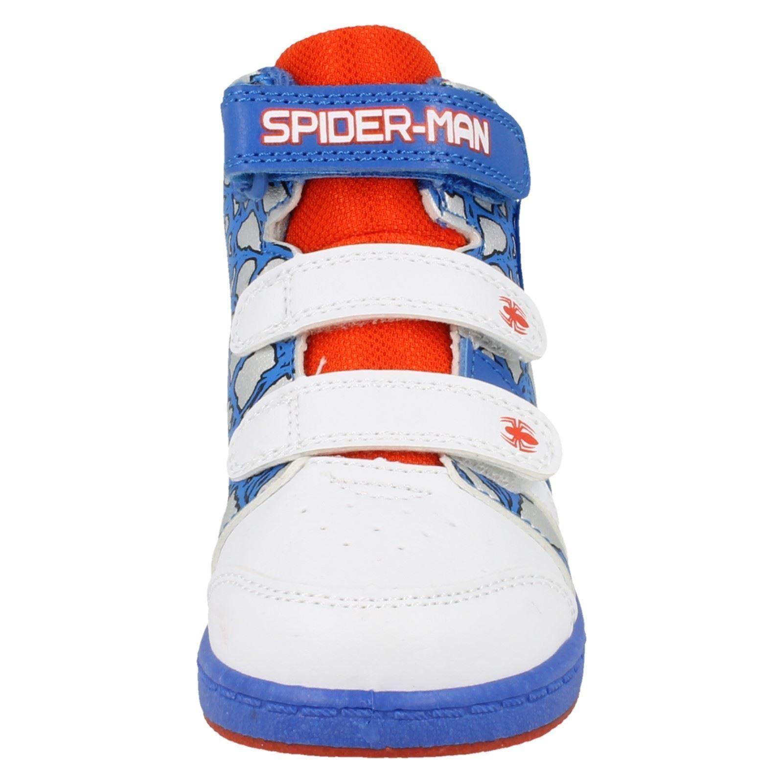 Chicos Marvel Spiderman Concourse Hi Top Trainer
