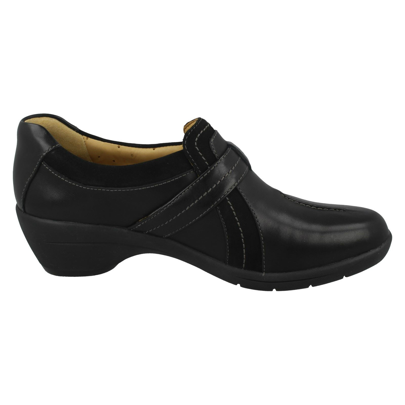 Ladies Ladies Ladies Clarks Block Heeled shoes 'Un Faina' 96b20b