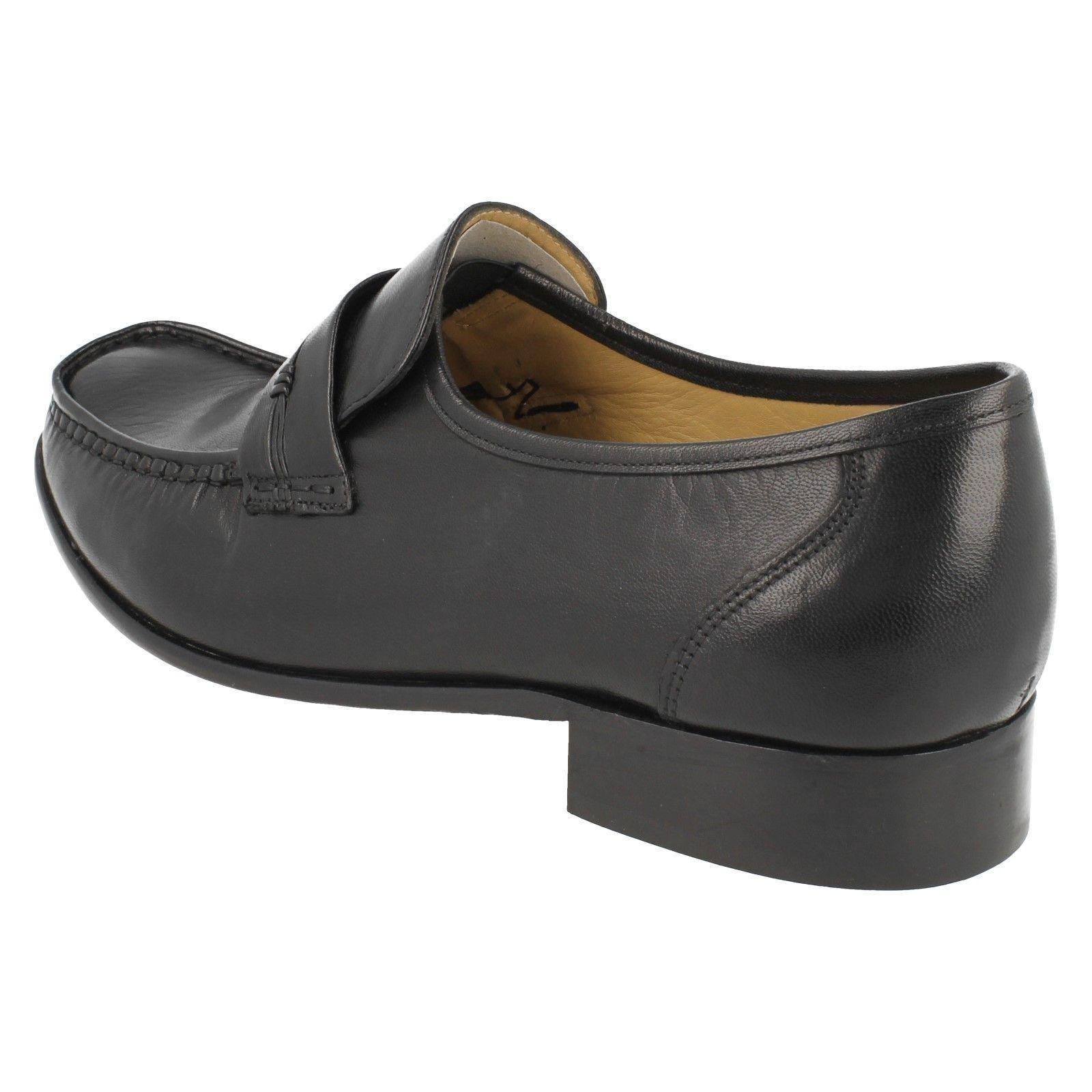 Moccasin Herren Thomas Blunt Leder Classic Moccasin  Slip On Schuhes Clapham 39a35e