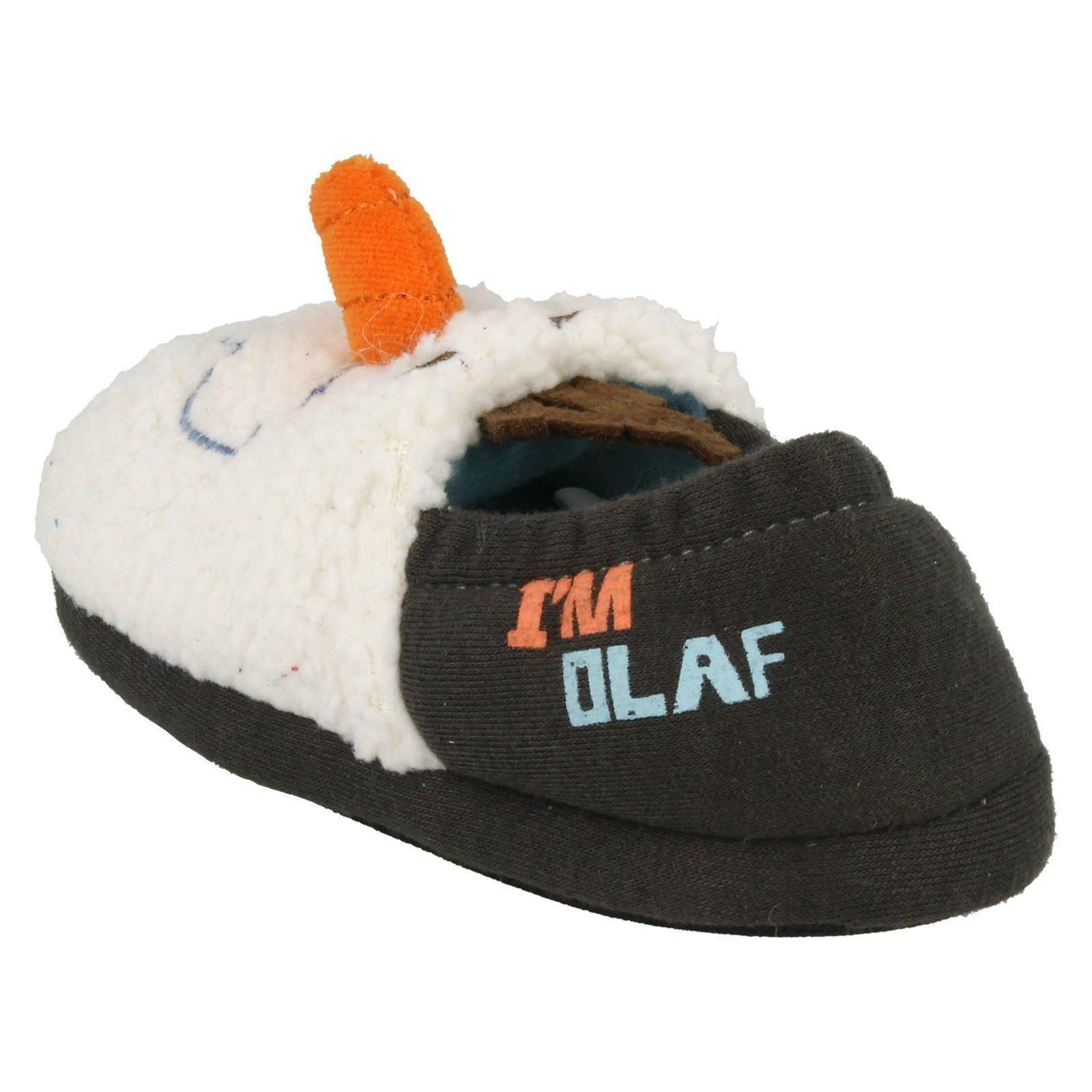 Infant Boys Disney Frozen Novelty Slippers Olaf Carrot