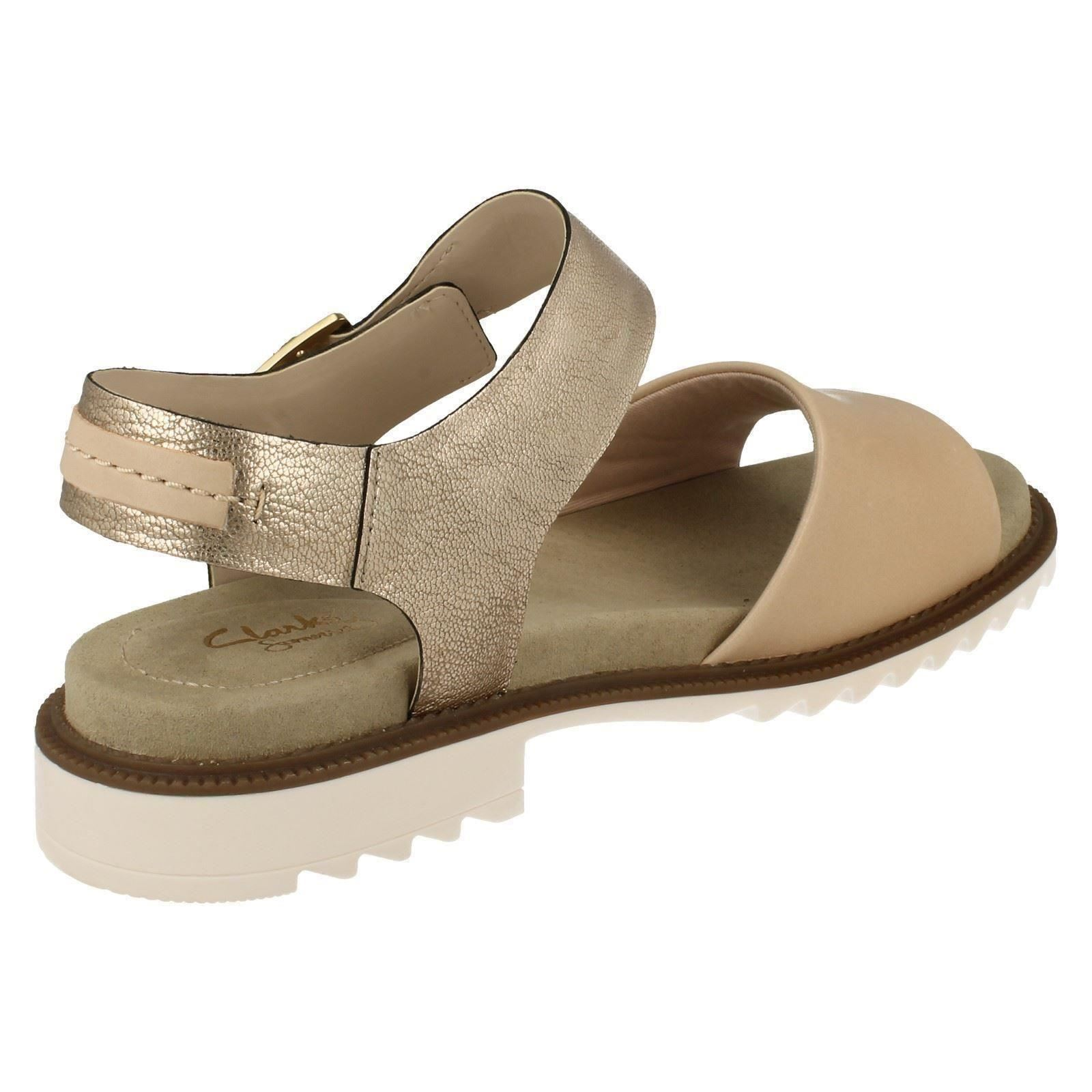 726b9058532e Ladies Clarks Open-toe Summer Sandal FERNI Fame UK 4 Nude Combi D. About  this product. Picture 1 of 10  Picture 2 of 10  Picture 3 of 10  Picture 4  of 10