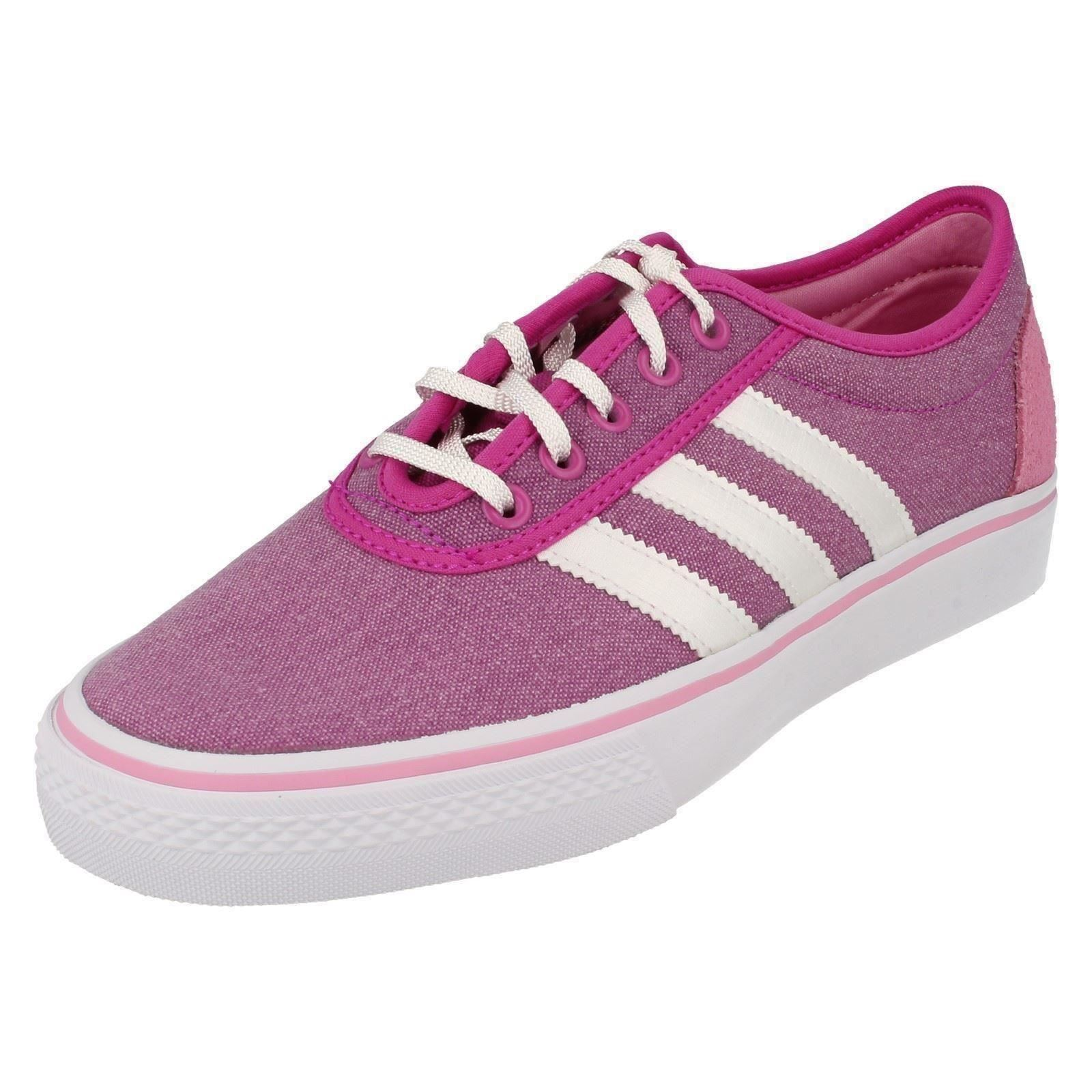 Ladies Adidas Original Lace Up Trainers Adiease W