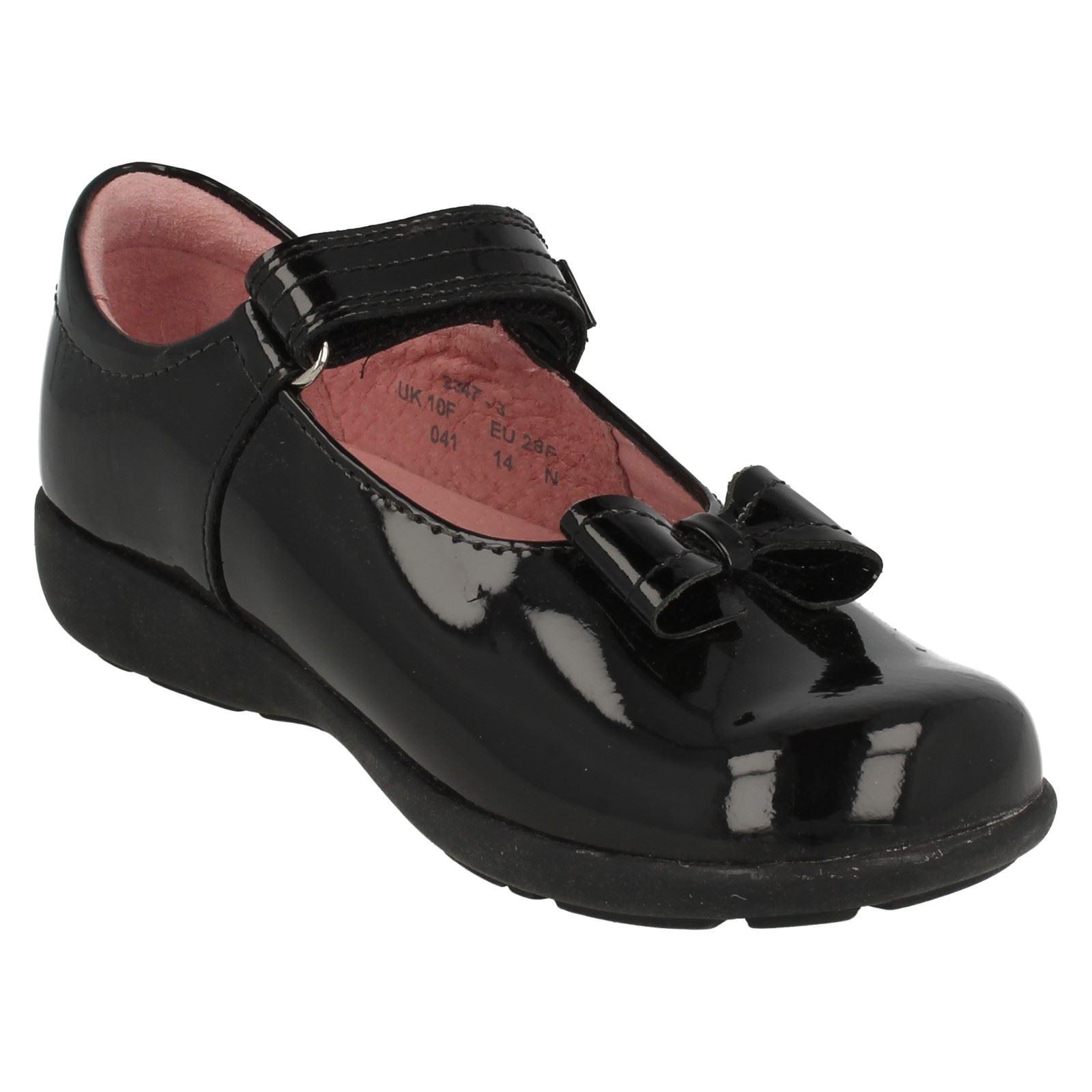 Zapatos Escuela Niñas Startrite plana con arco Vamp viola