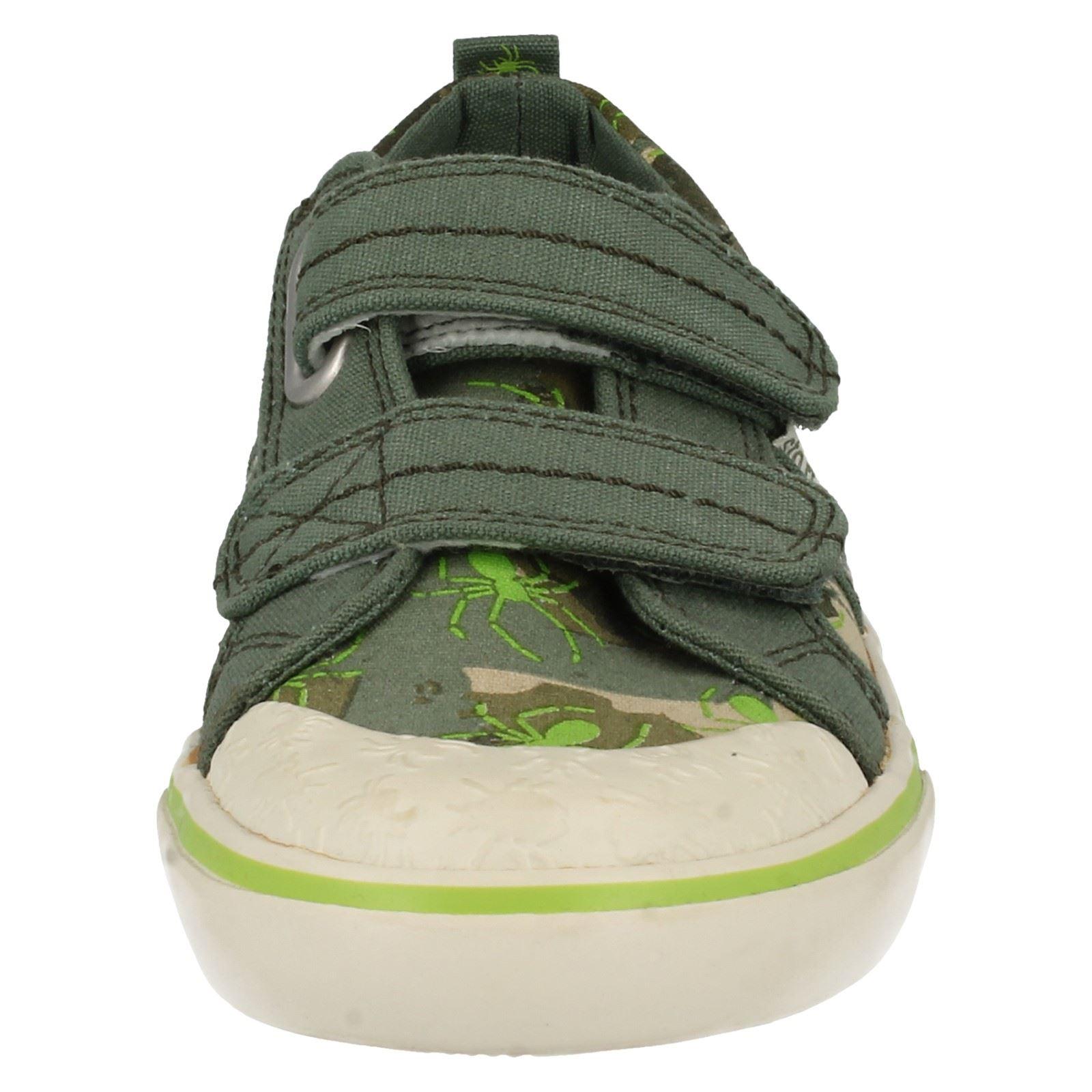 Boys Startrite Double Strap Shoes Venomous