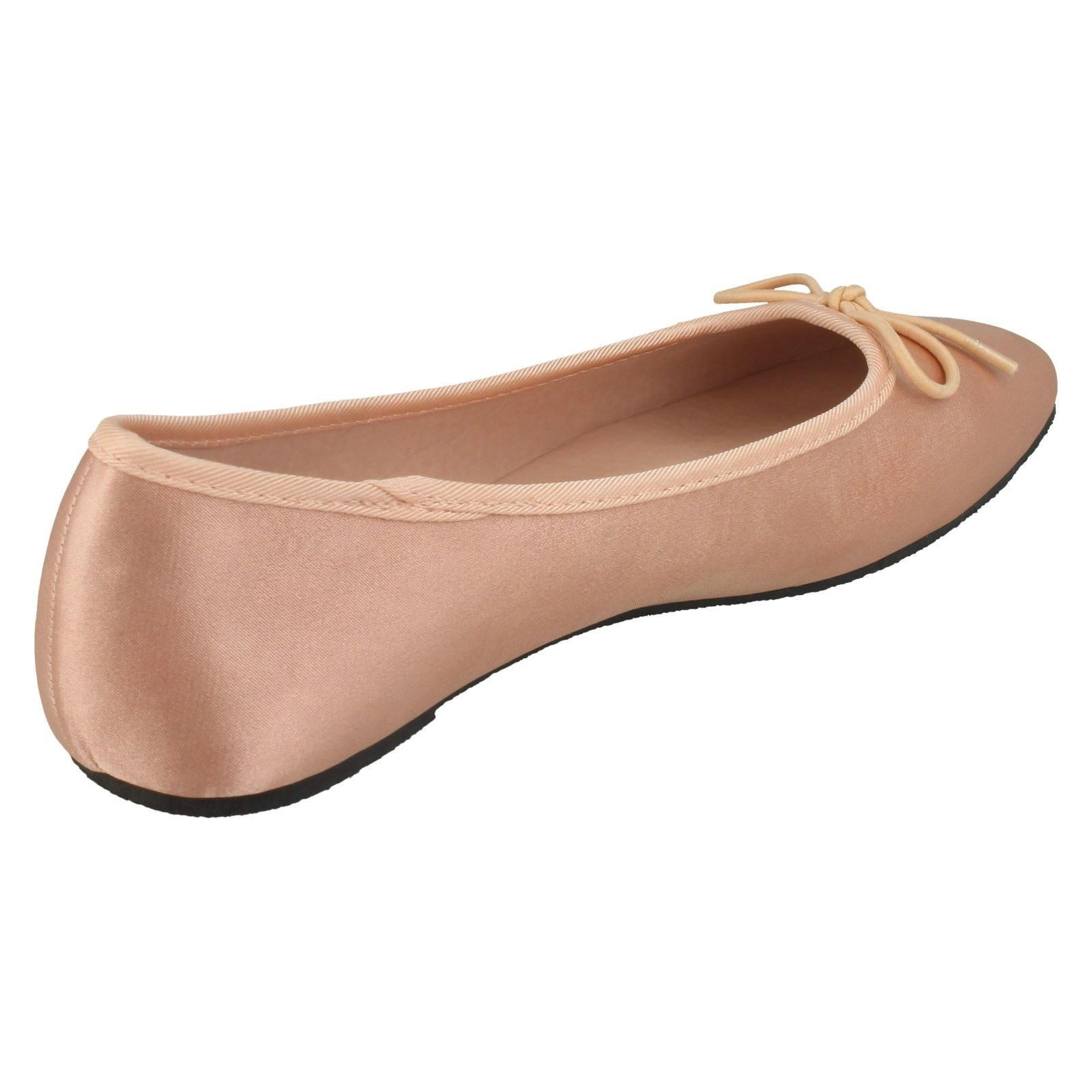 Spot on Damas Informal Zapatos raso Bailarina