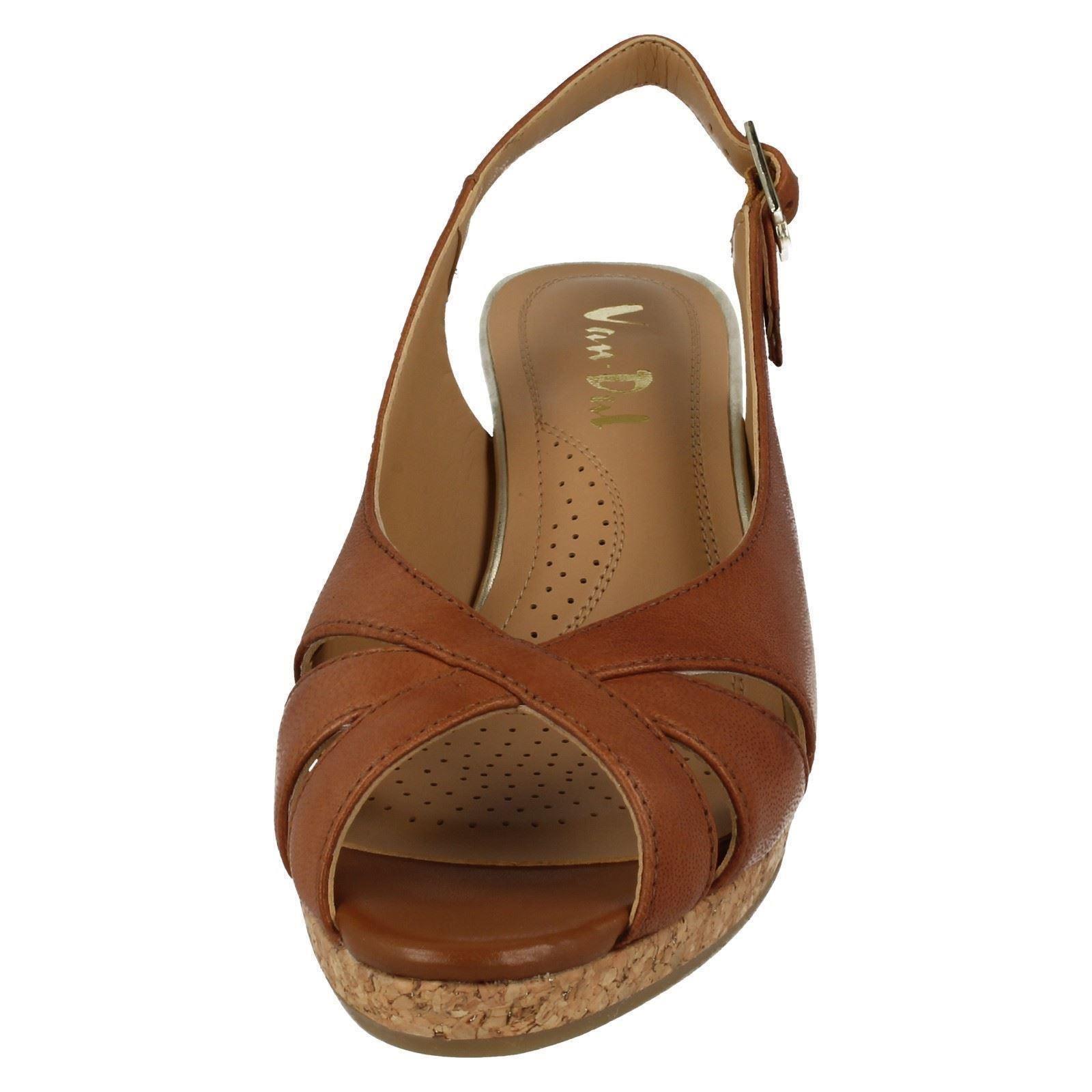 Femmes Van Dal Été des sandales compensées