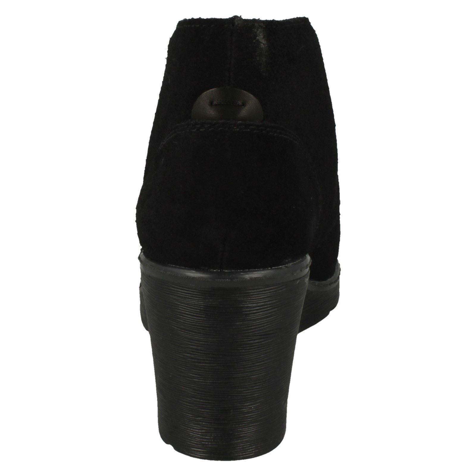 Mujer Clarks Botines con Tacón de Plataforma Hazen Dije | eBay