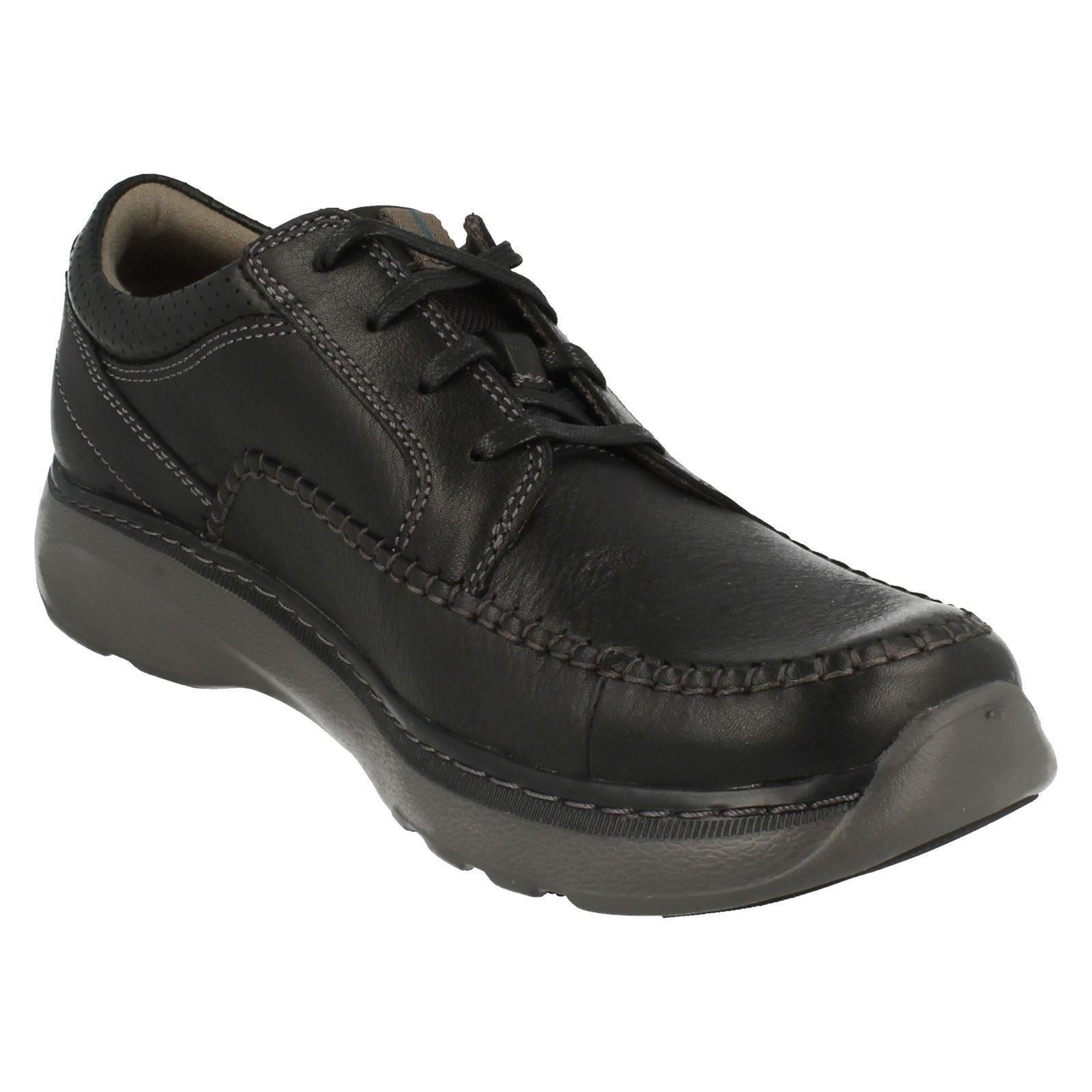 Mens Clarks Casual Lace Up Shoes Charton Vibe