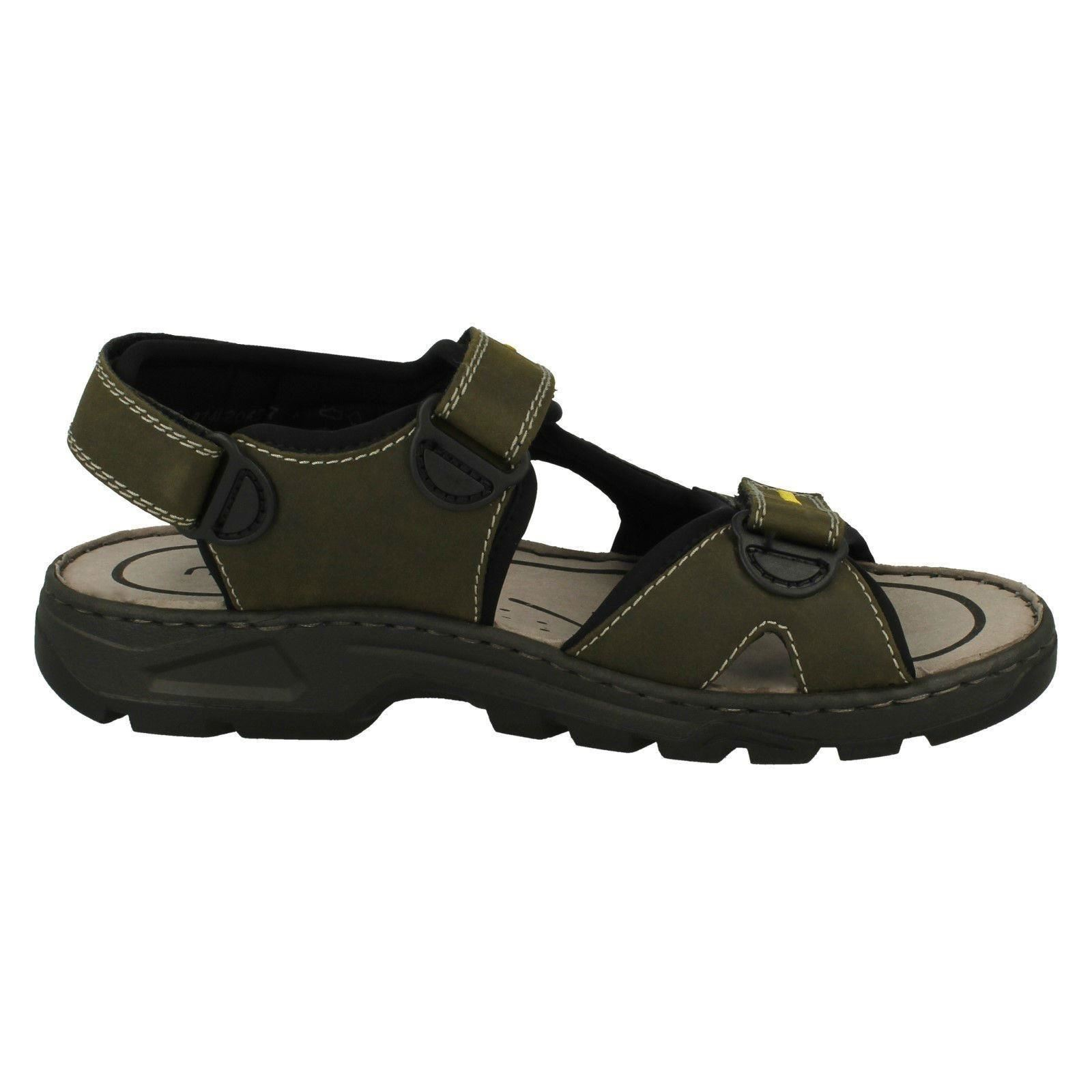 Rieker Mens Strapped Casual Strapped Mens Sandals - 26157 c09306