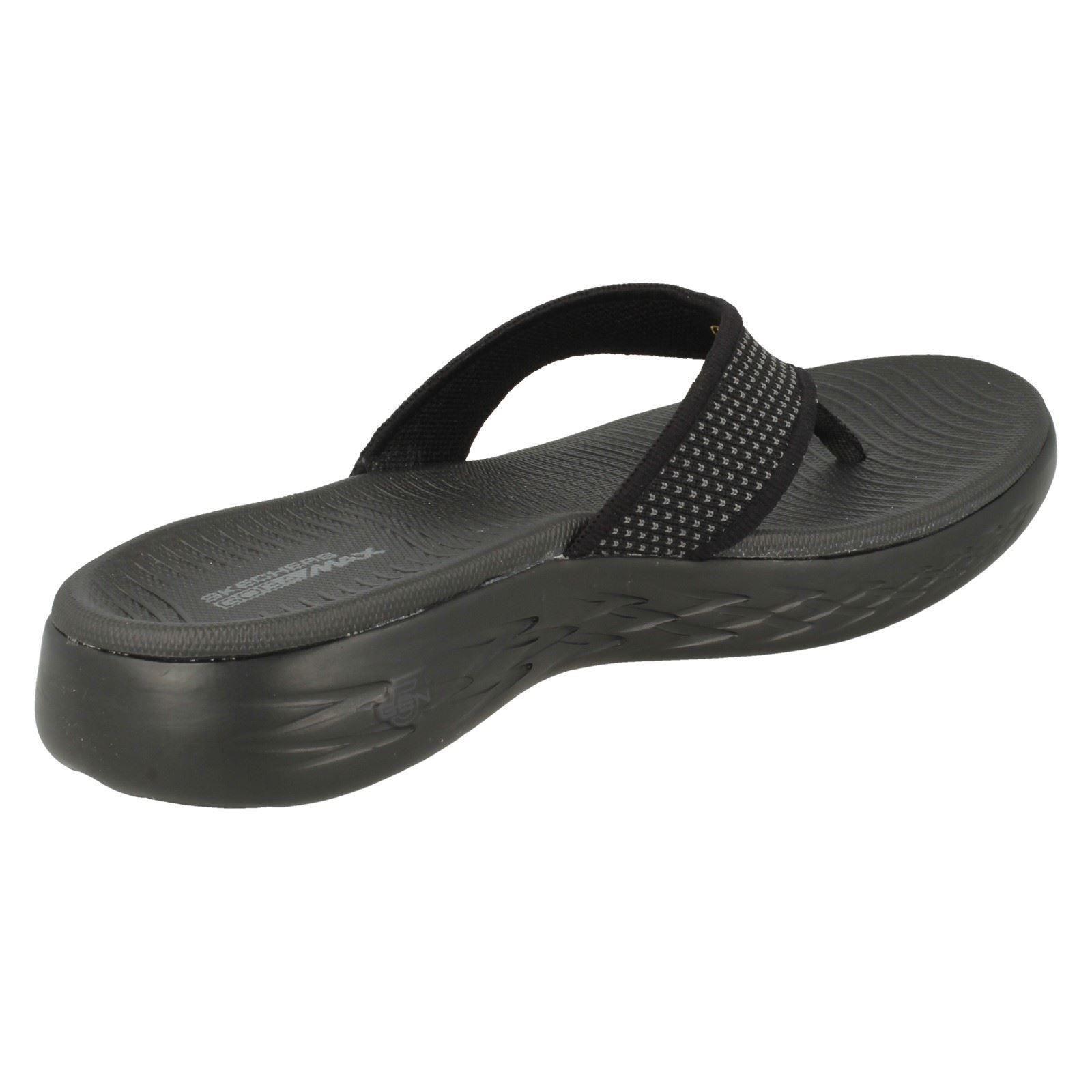 Ladies Skechers Casual Slip On Flip Flip Flip Flops - On The Go 600 15300 54f796