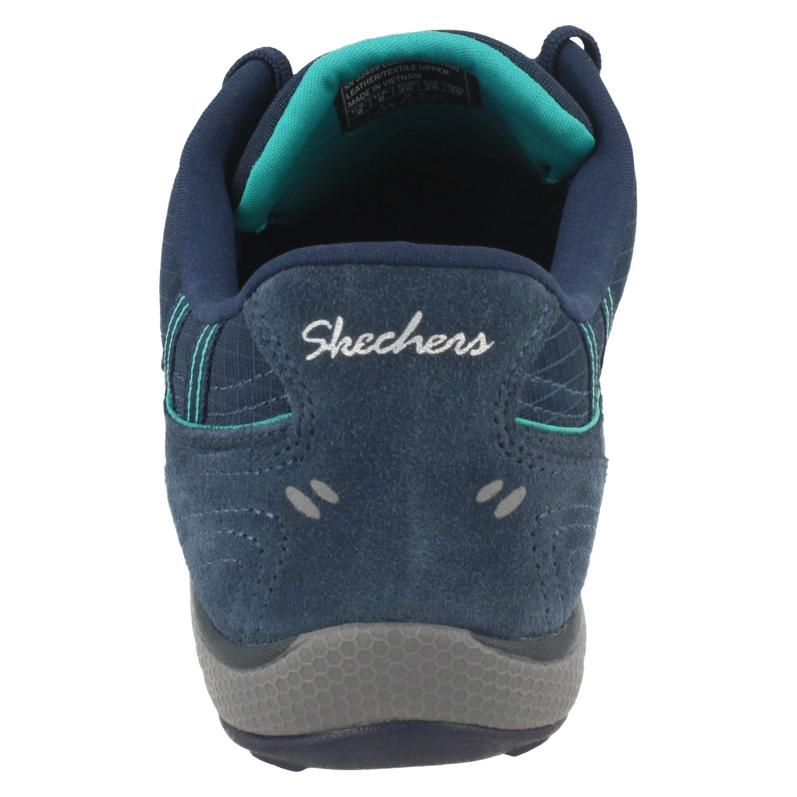 4b7e6066d46c Ladies Skechers Relaxed Fit Trainers  Breathe Easy Just Relax