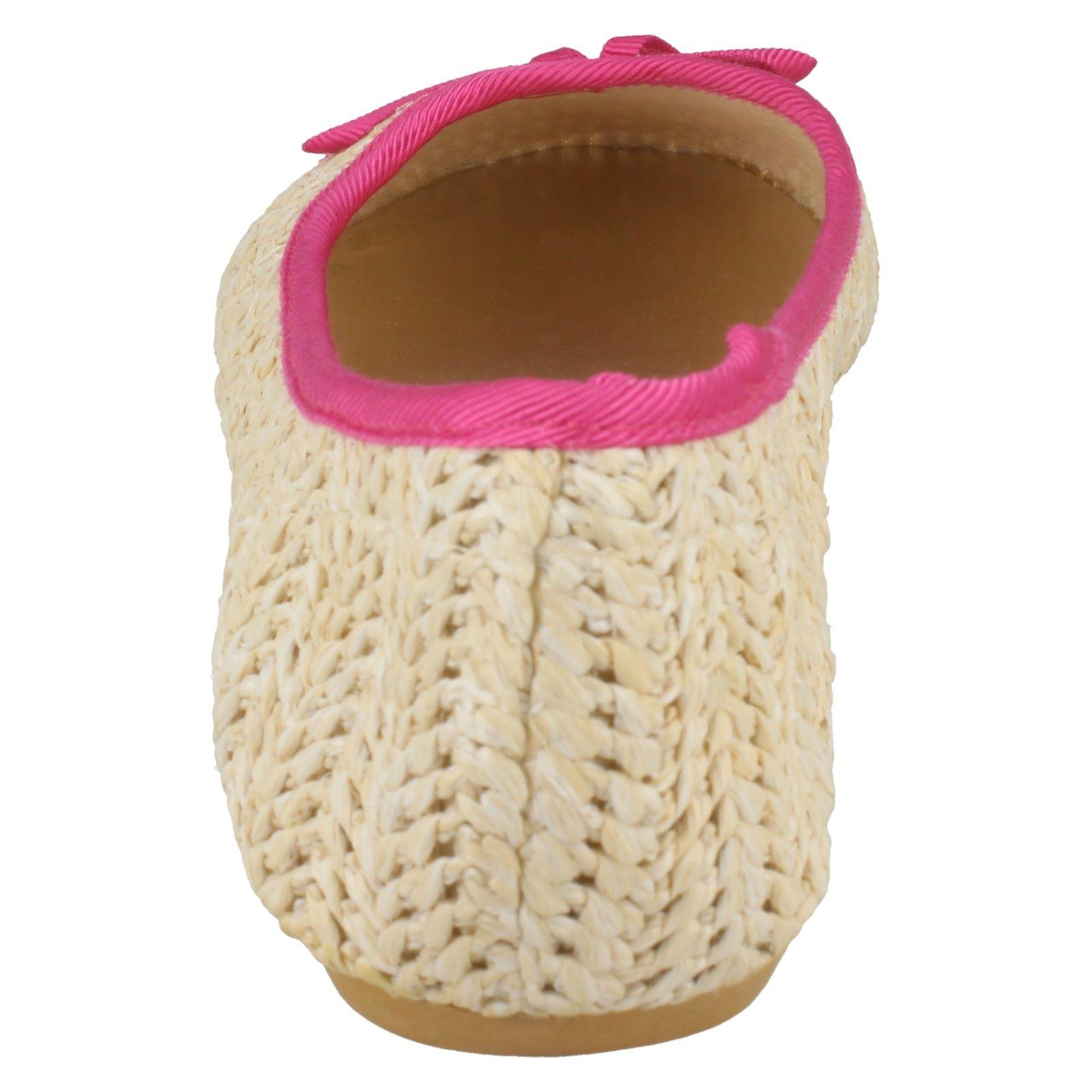 Zapatos señoras de punto en bailarina tejida plana