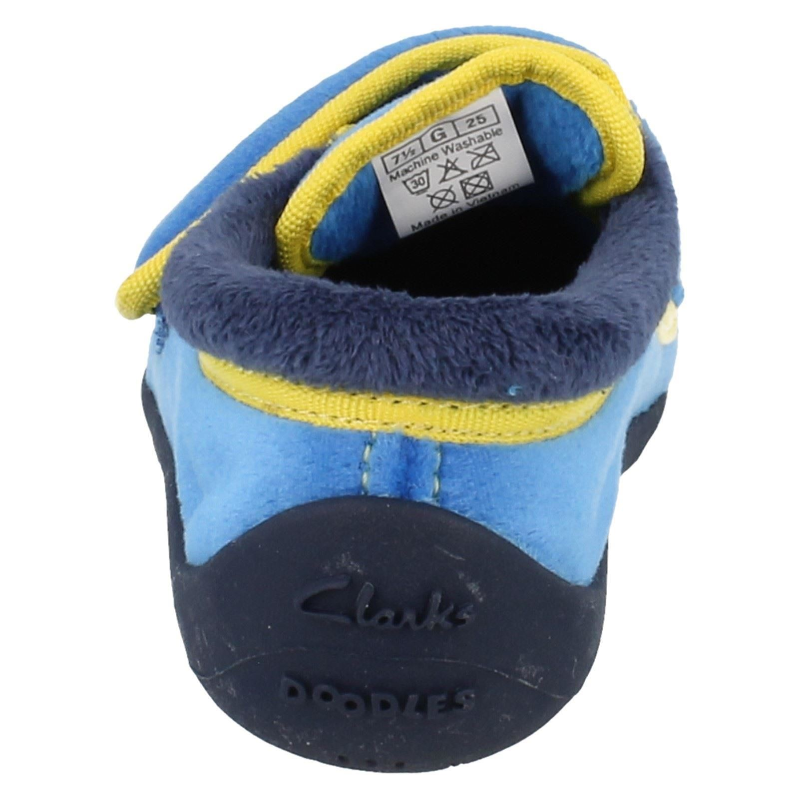 Clarks Boys Slippers - Saurus Dreams