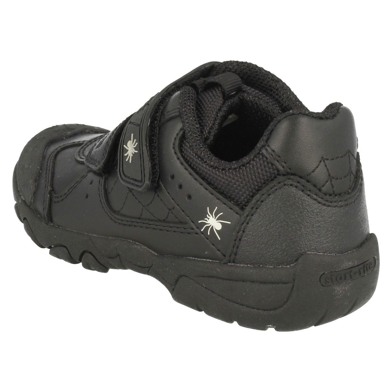 e nero strappo 'tarantula' chiusura da in bambino scuola gancio pelle a Startrite Scarpe da con 06BUxC8