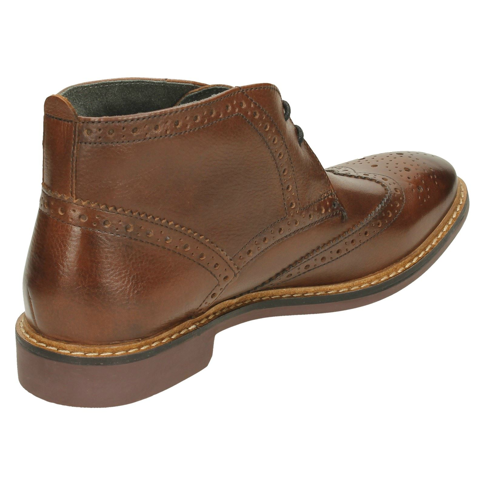 Mens Base London Casual Chelsea Ankle Boots Trick