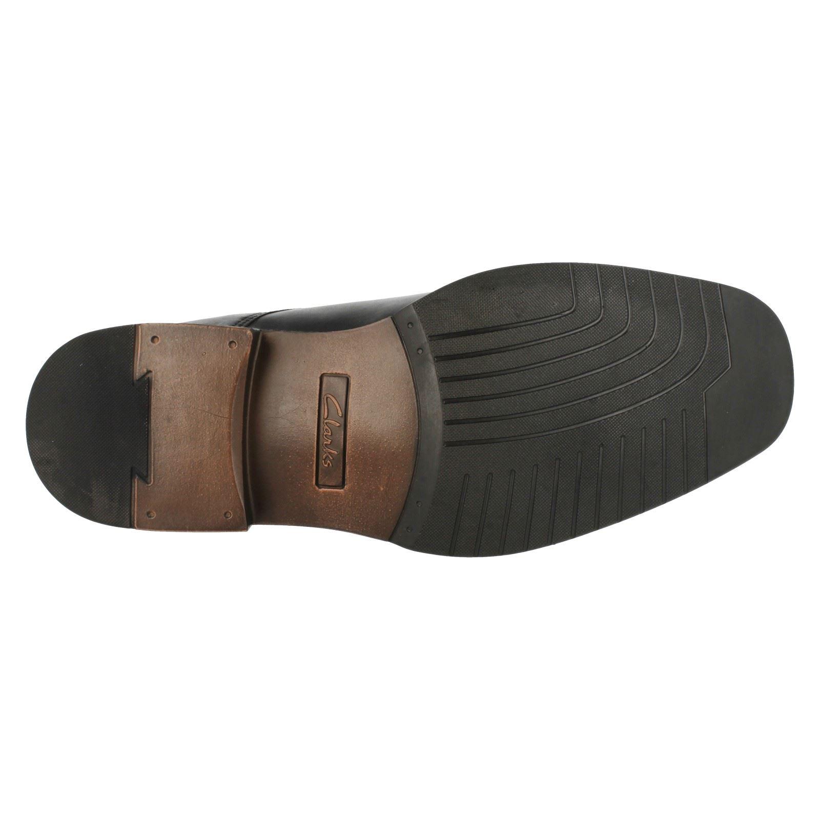 'Mens Clarks Lace' Up Shoes - Driggs Cap