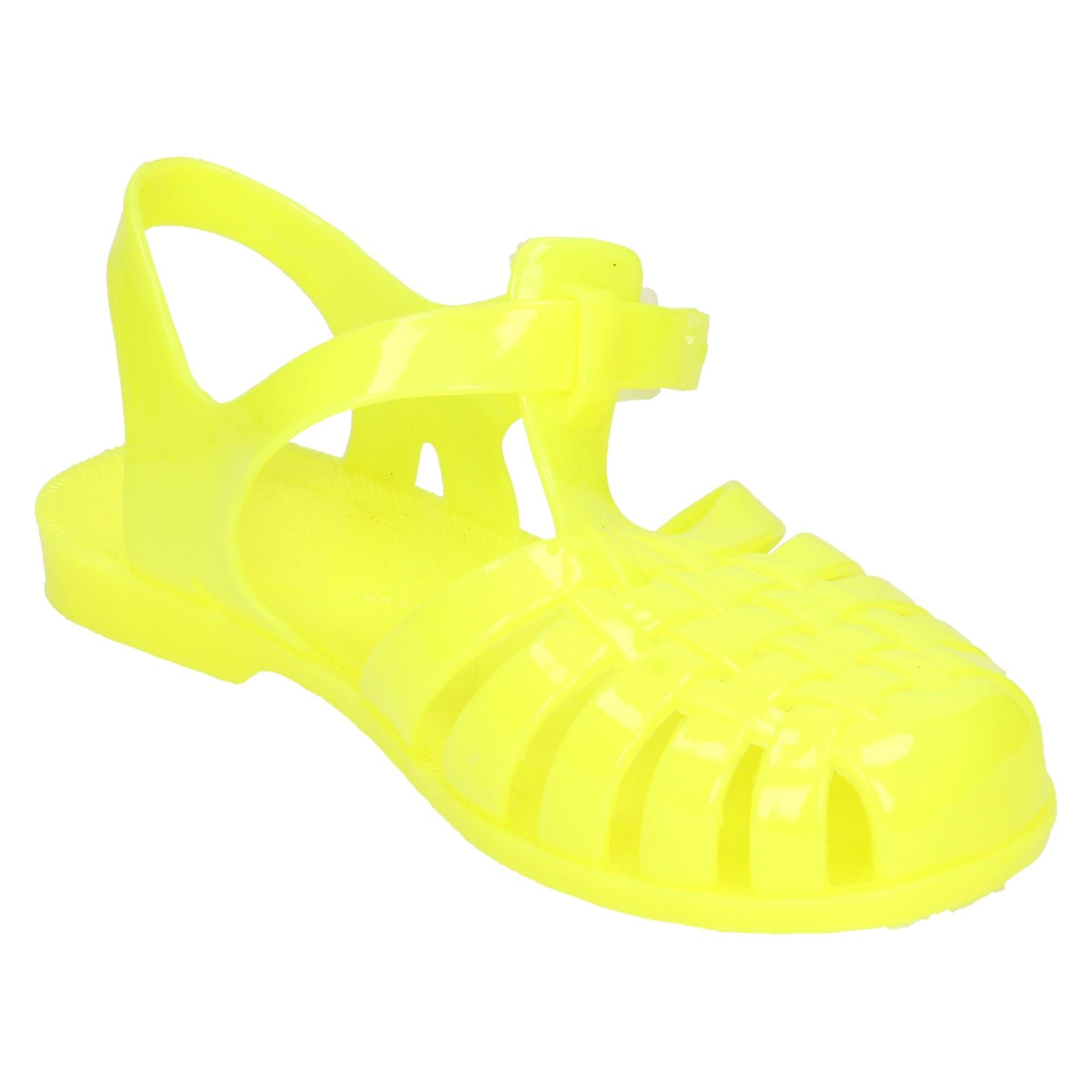 Girls Spot On - Closed Toe Jelly Sandals