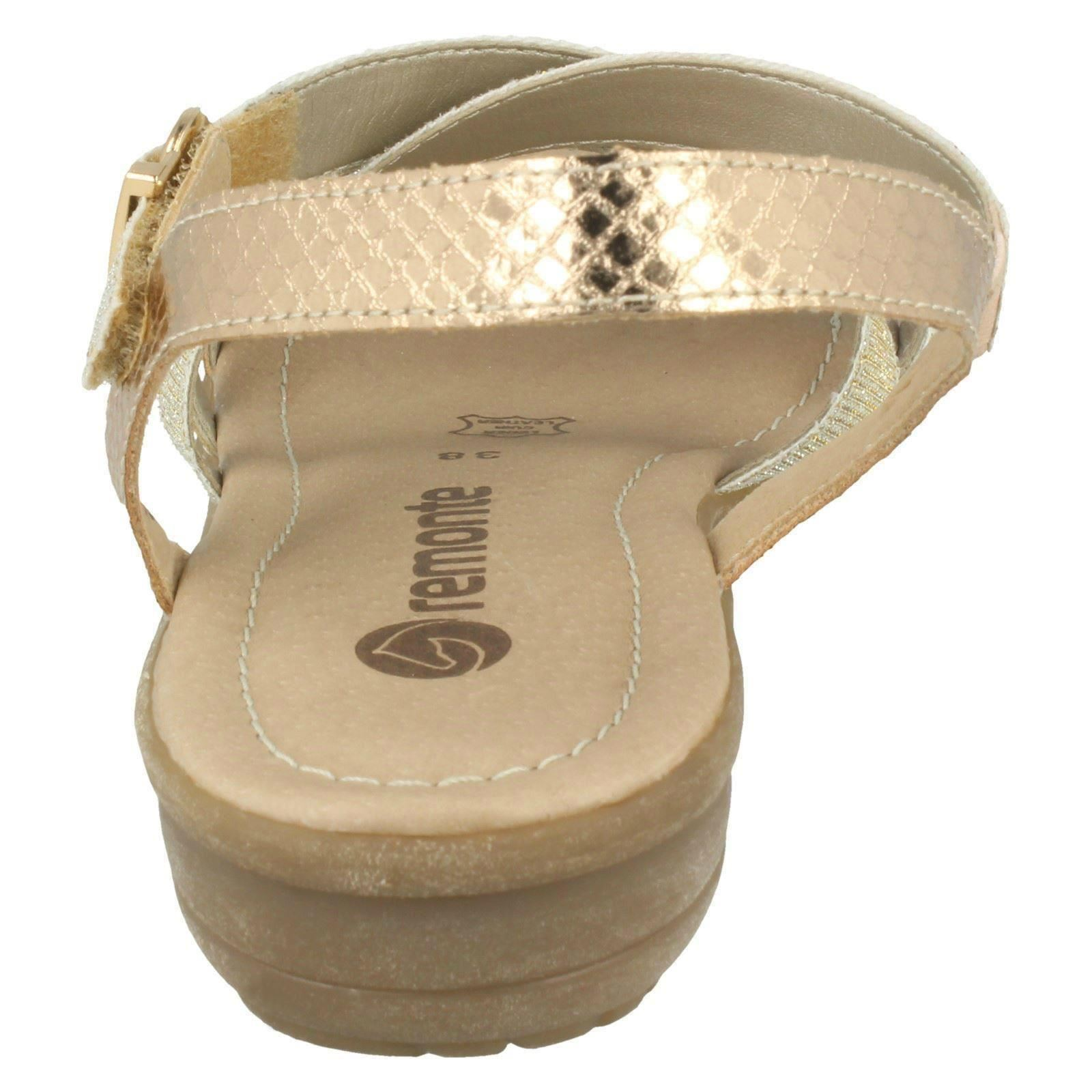 Damenschuhe Remonte - Strappy Sandales - Remonte R3631 510b47