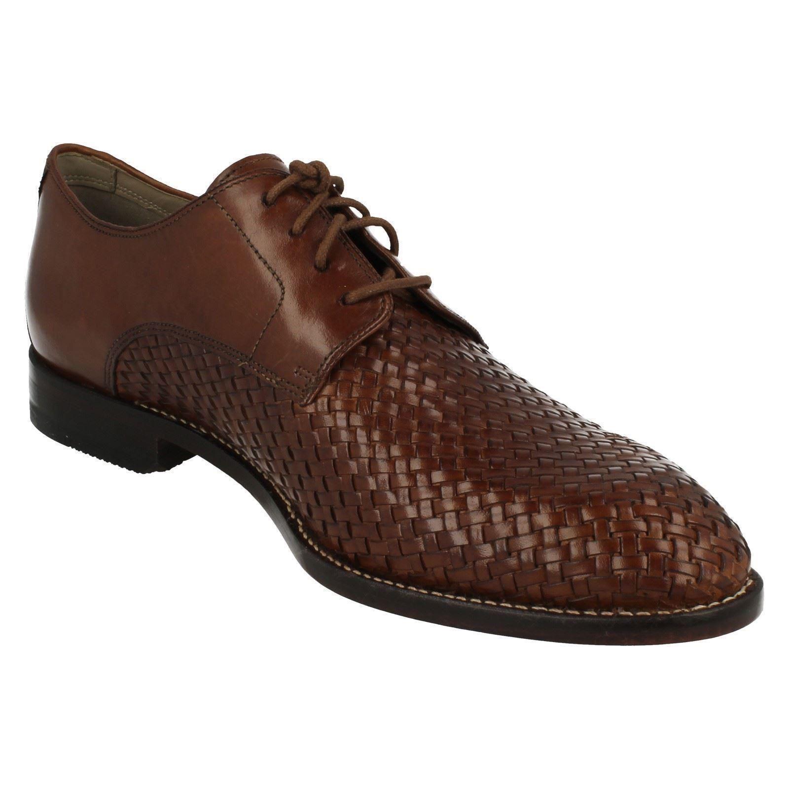 Mens Clarks Smart Lace Twinley Up Shoes, Twinley Lace Lace 9812af